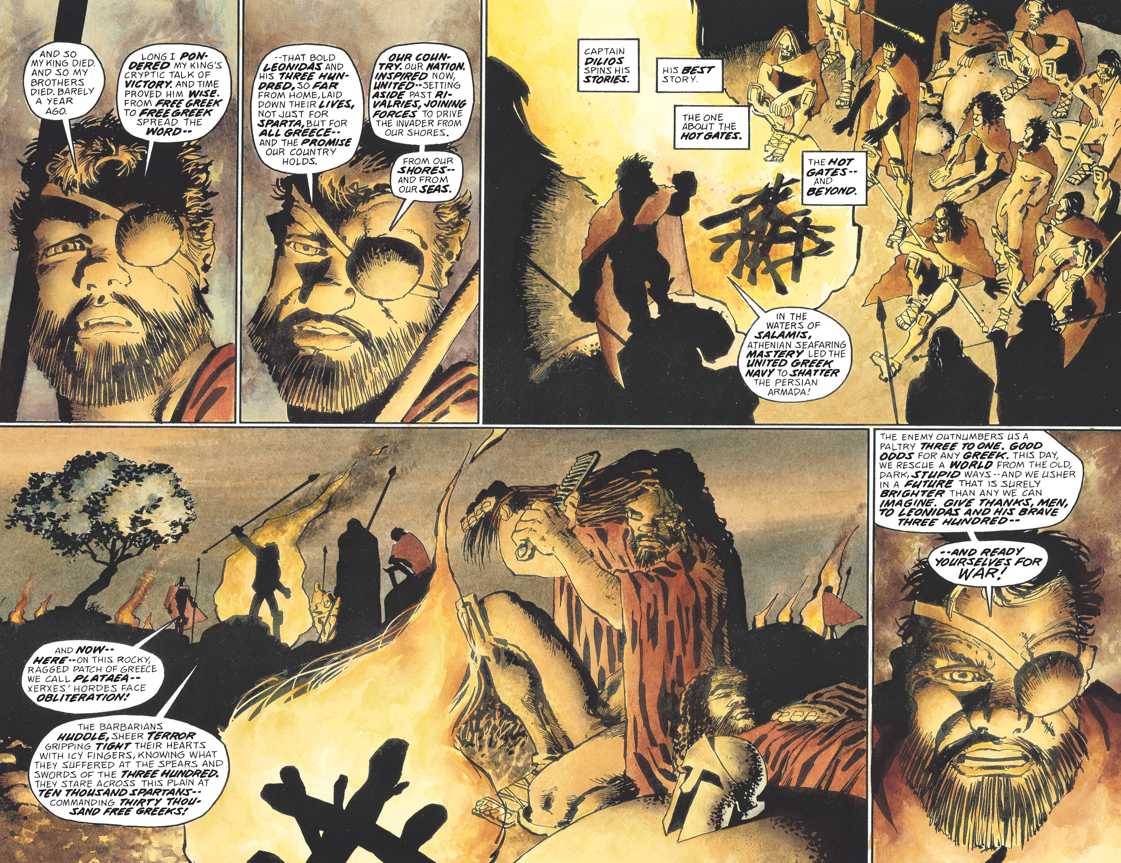Read online 300 comic -  Issue #300 TPB - 85