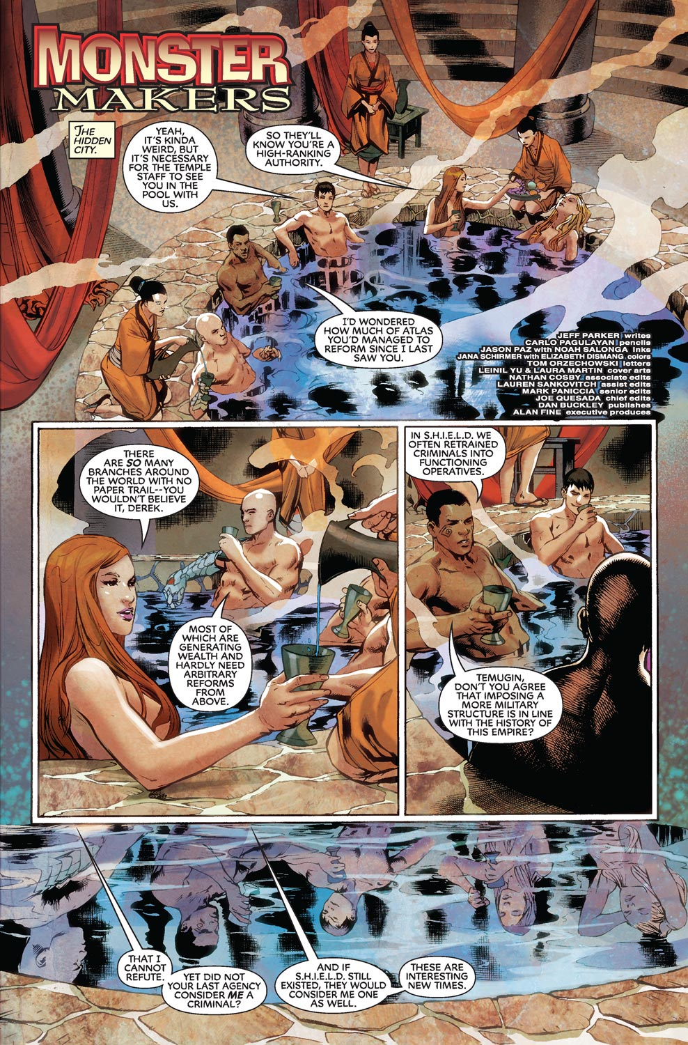 Read online Agents Of Atlas (2009) comic -  Issue #8 - 3