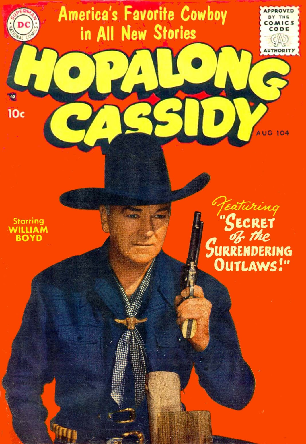 Hopalong Cassidy issue 104 - Page 1