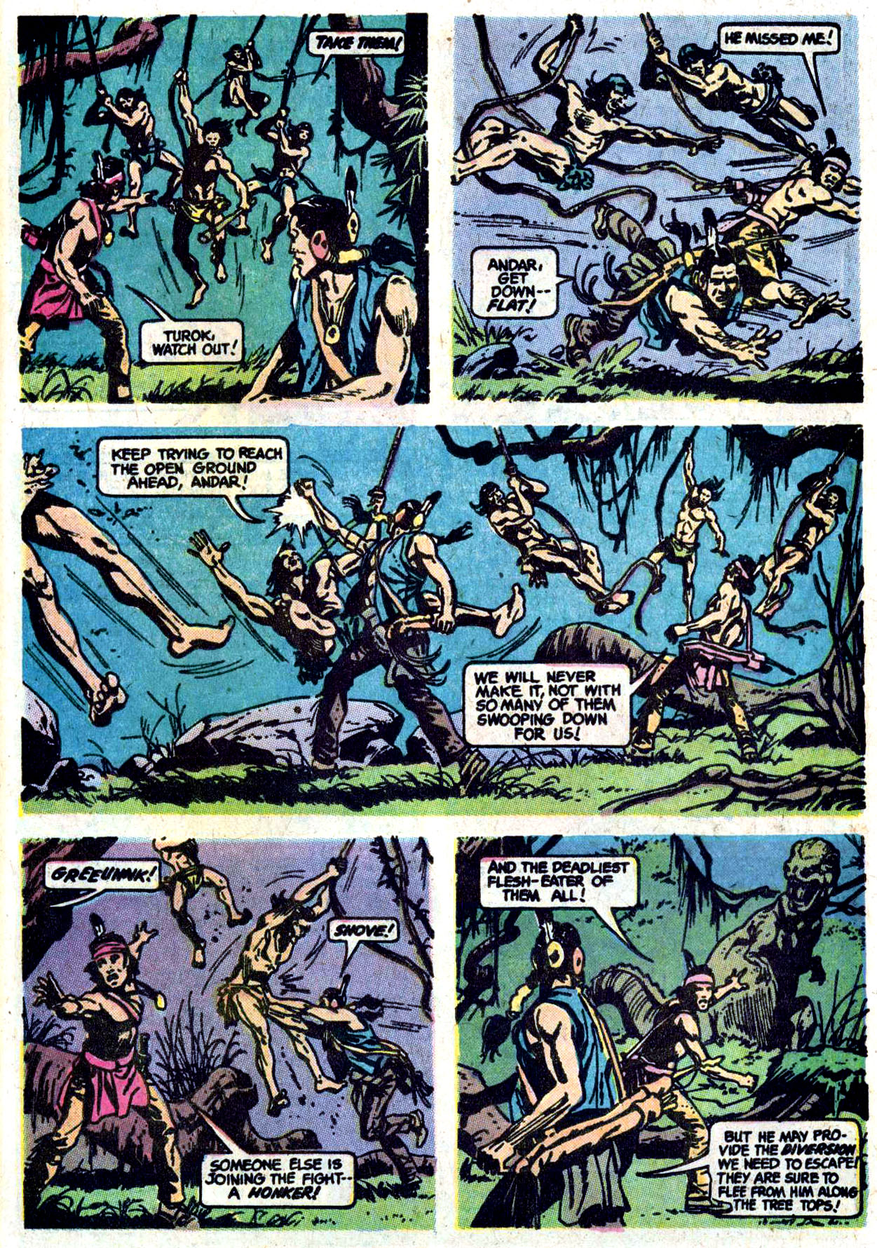 Read online Turok, Son of Stone comic -  Issue #114 - 22