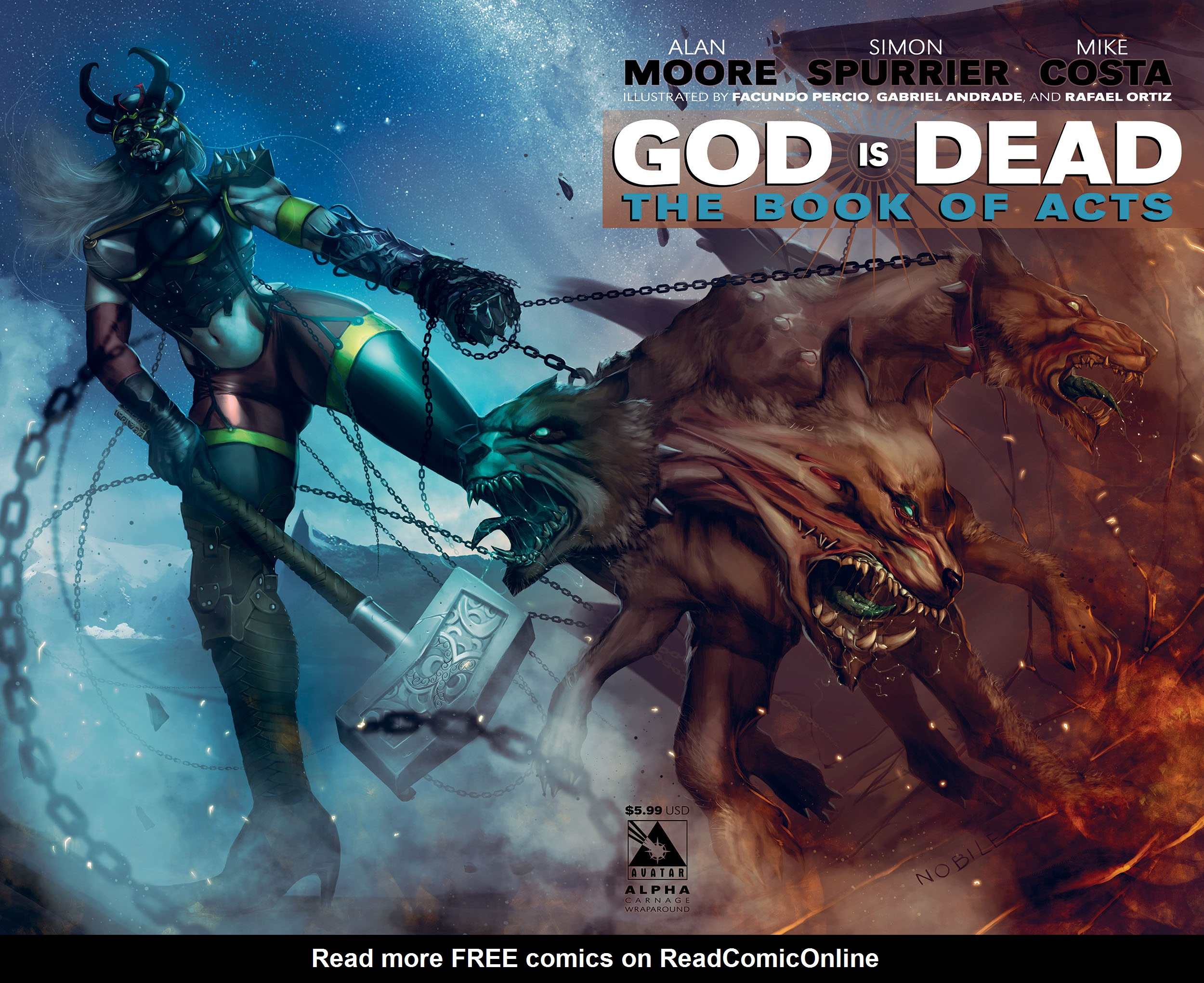 Read online God is Dead: Book of Acts comic -  Issue # Alpha - 8