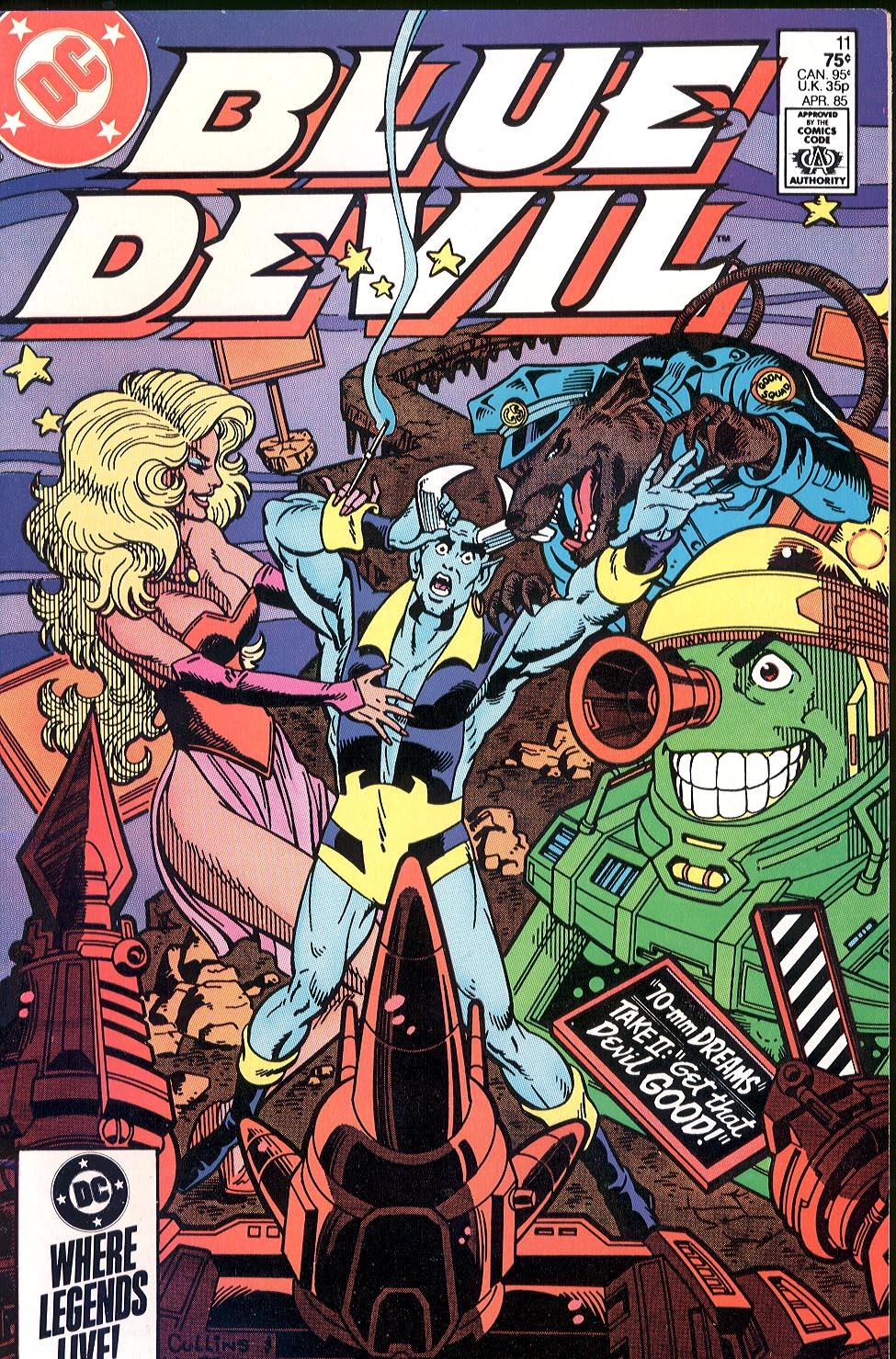 Blue Devil 11 Page 0