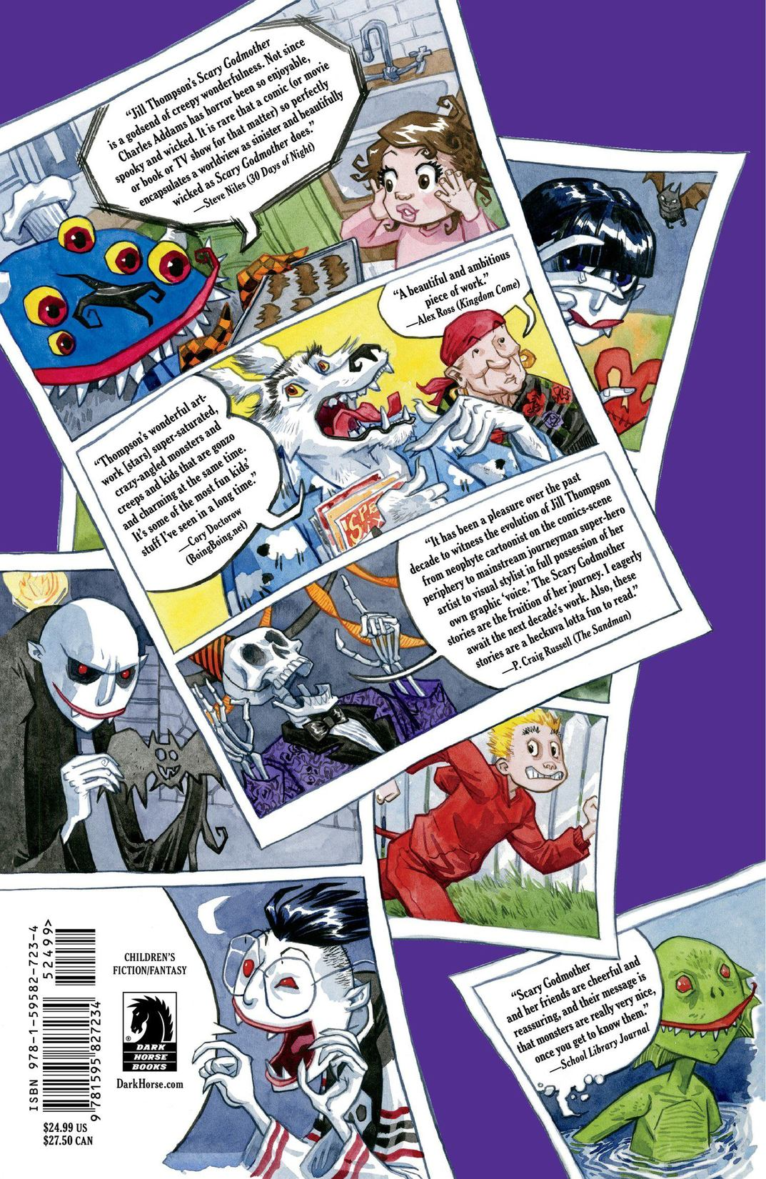 Read online Scary Godmother Comic Book Stories comic -  Issue # TPB - 313