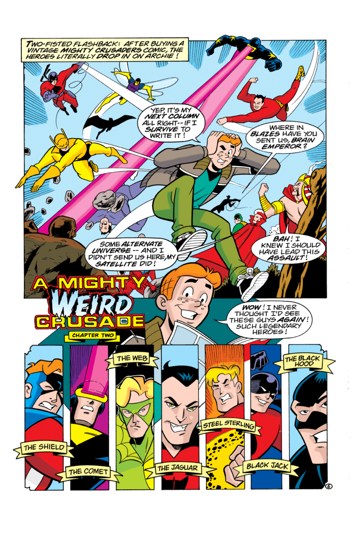 Read online Archie's Weird Mysteries comic -  Issue #3 - 7