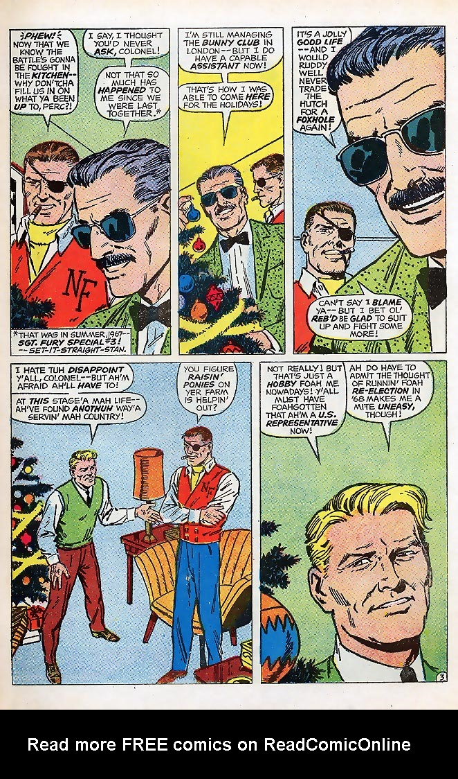 Read online Sgt. Fury comic -  Issue # _Special 4 - 5