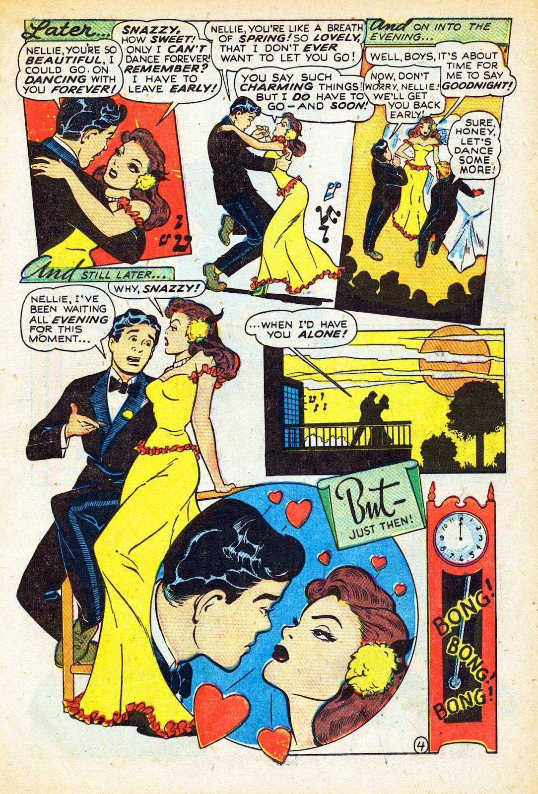 Read online Nellie The Nurse (1945) comic -  Issue #12 - 15