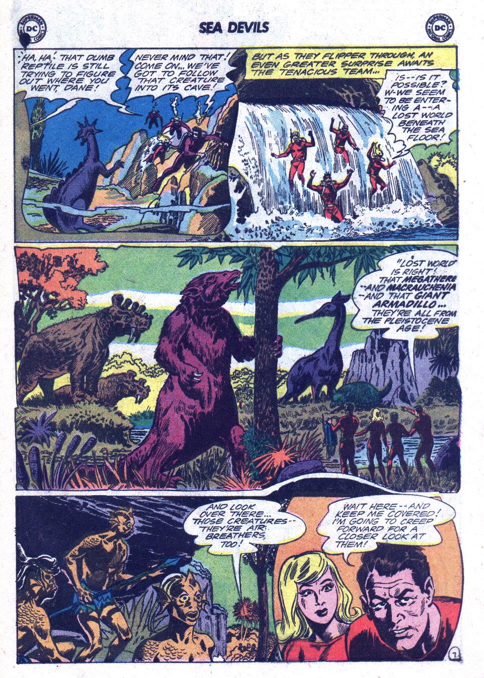 Read online Sea Devils comic -  Issue #18 - 9