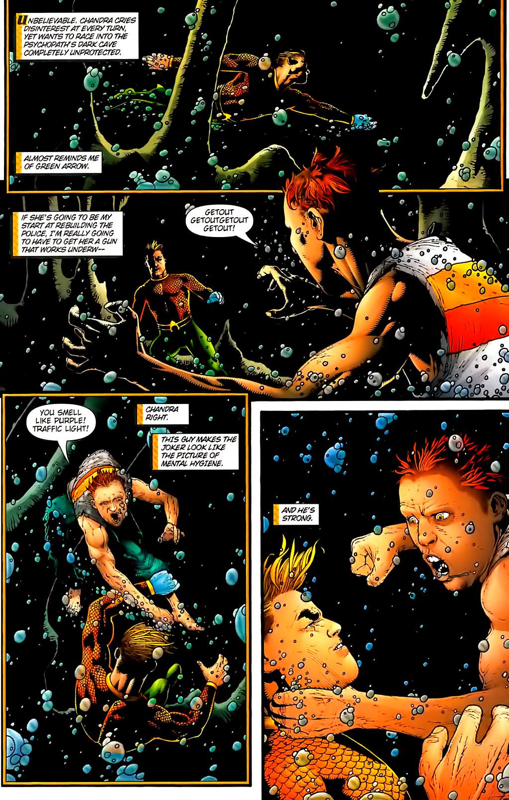 Read online Aquaman (2003) comic -  Issue #30 - 16
