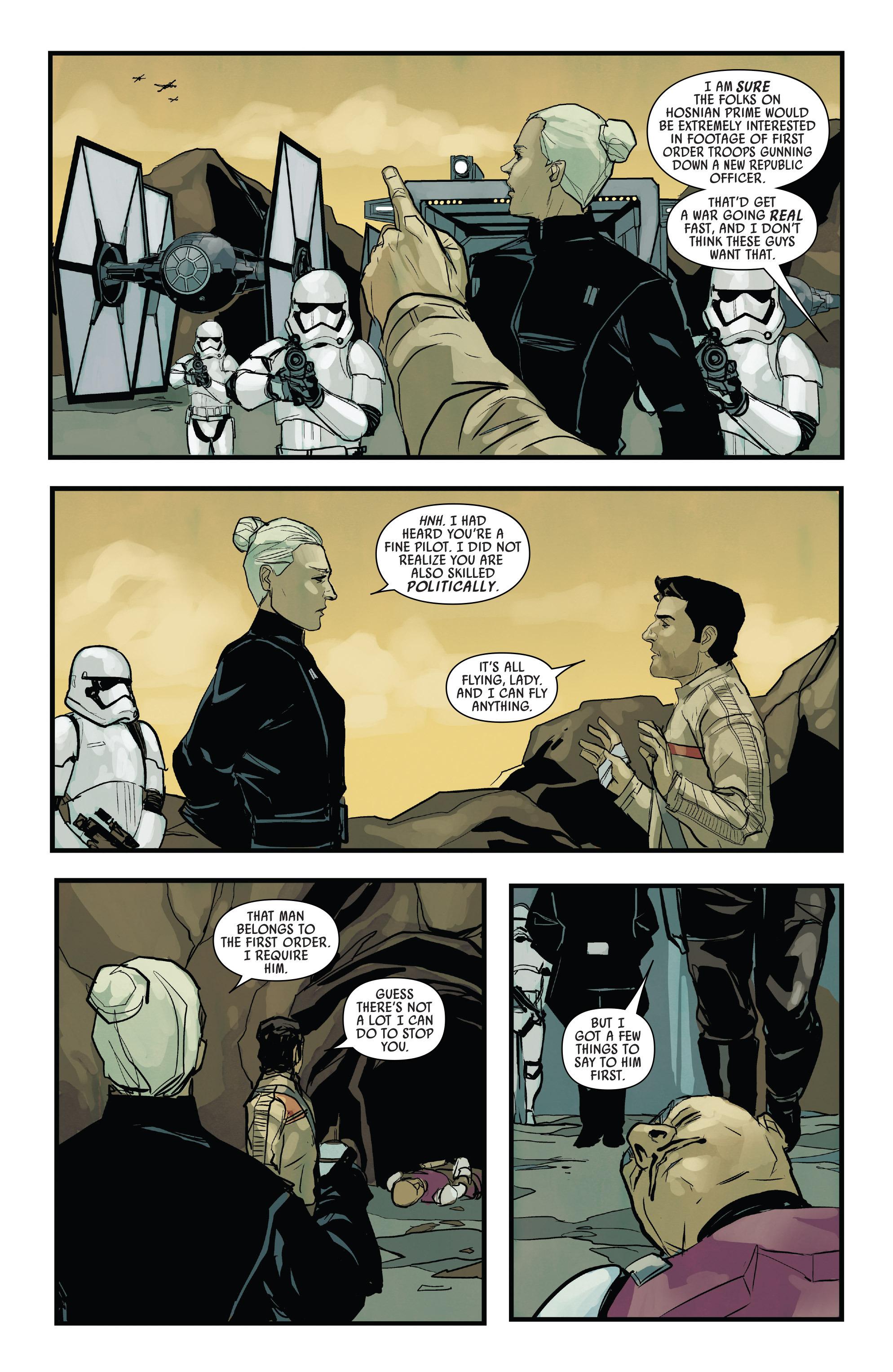 Read online Star Wars: Poe Dameron comic -  Issue #13 - 21