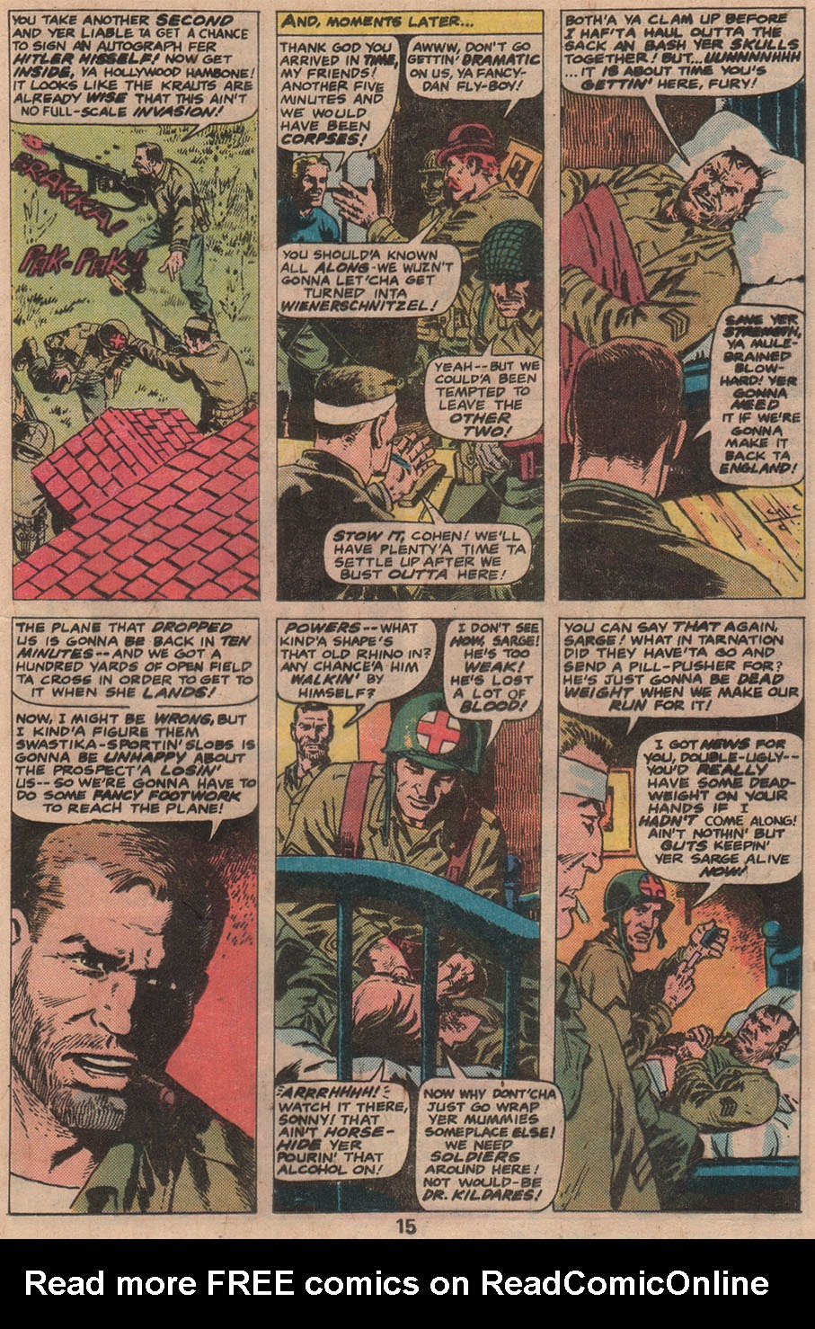 Read online Sgt. Fury comic -  Issue #141 - 17