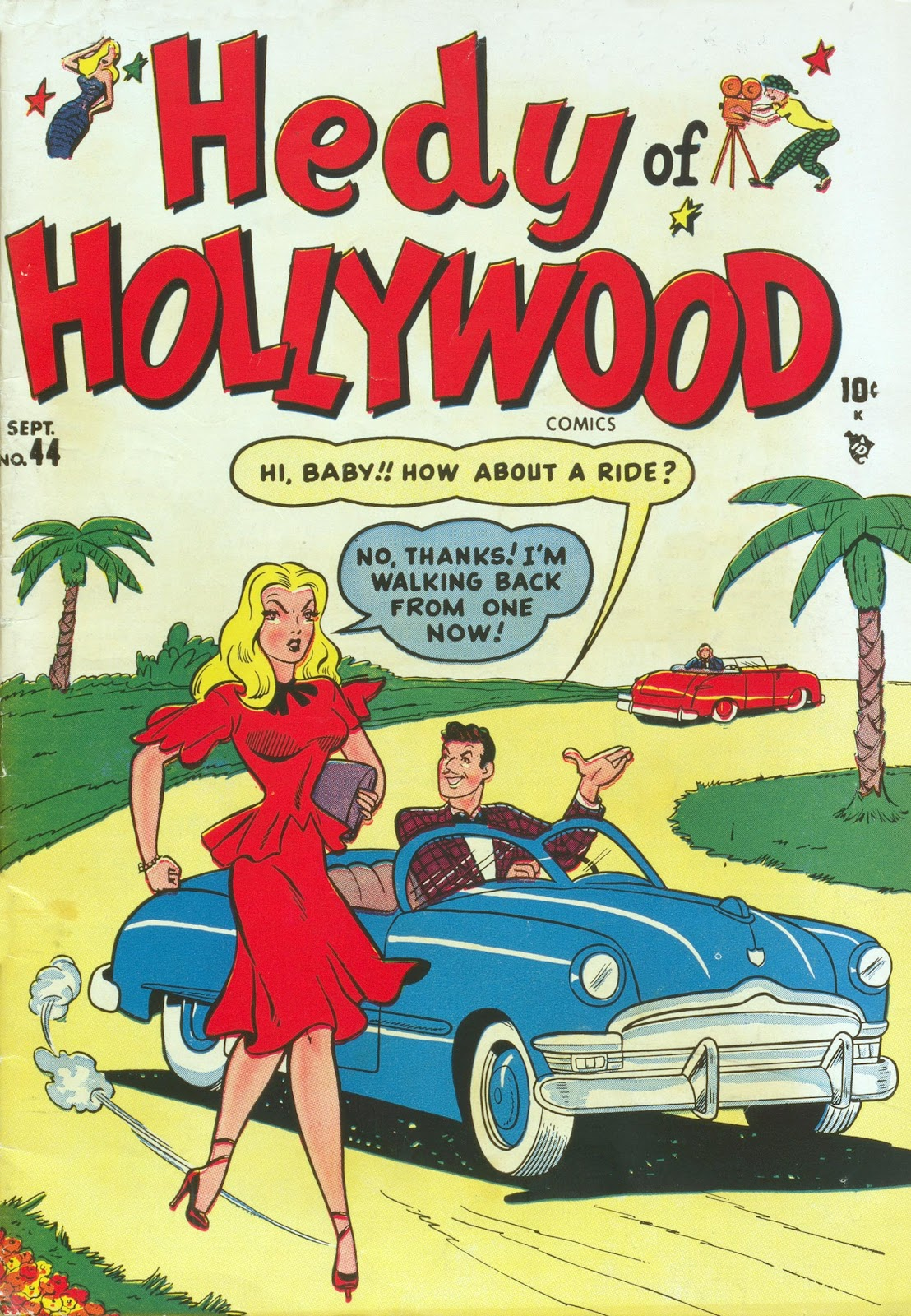 Hedy Of Hollywood Comics issue 44 - Page 1