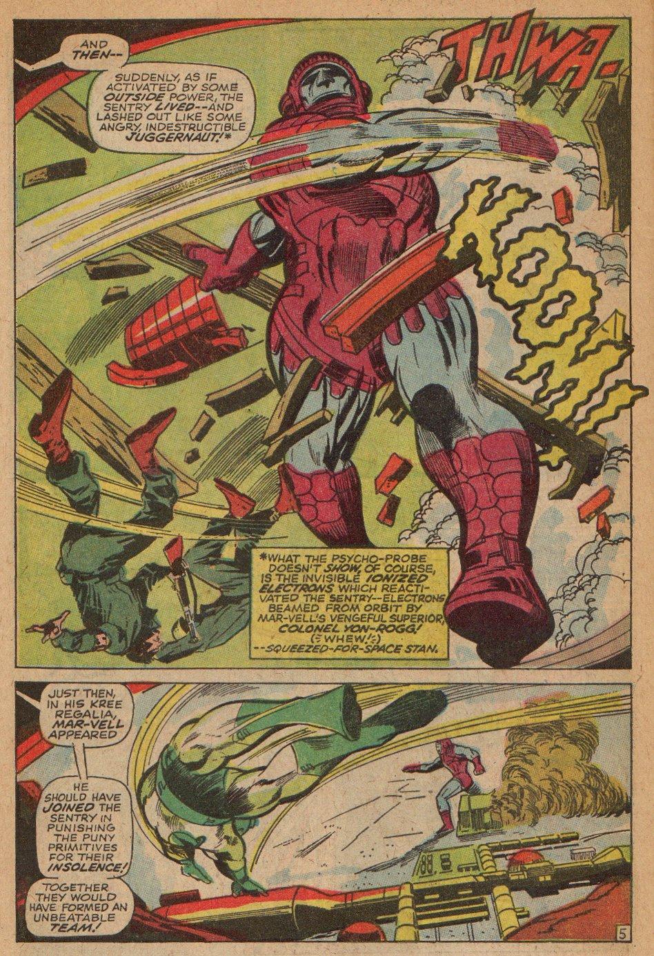 Captain Marvel (1968) Issue #3 #3 - English 6