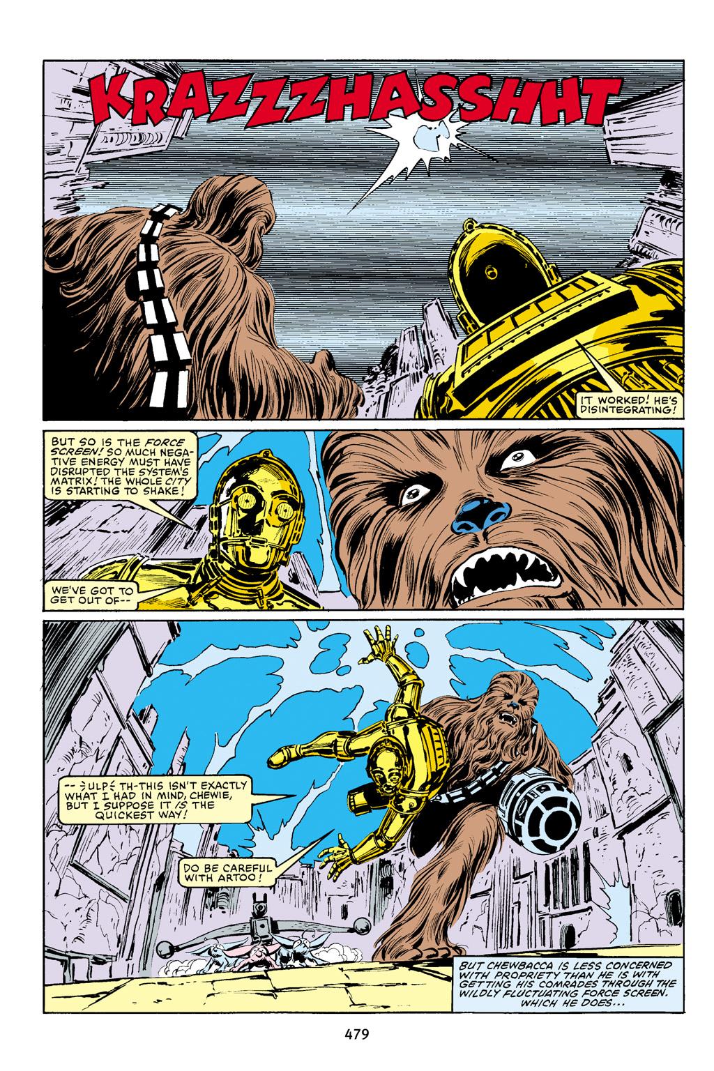 Read online Star Wars Omnibus comic -  Issue # Vol. 16 - 470