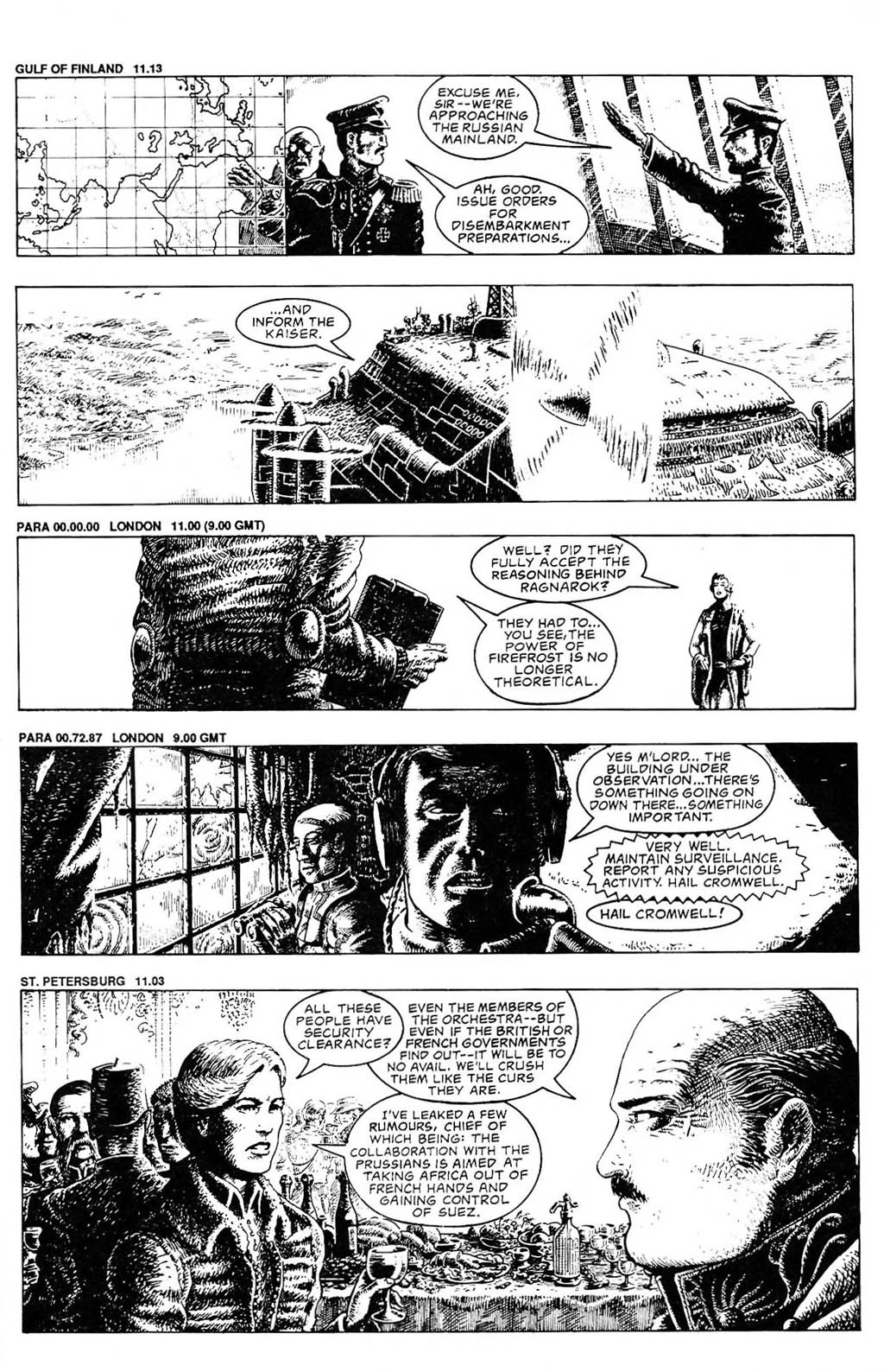 Read online The Adventures of Luther Arkwright comic -  Issue #2 - 5