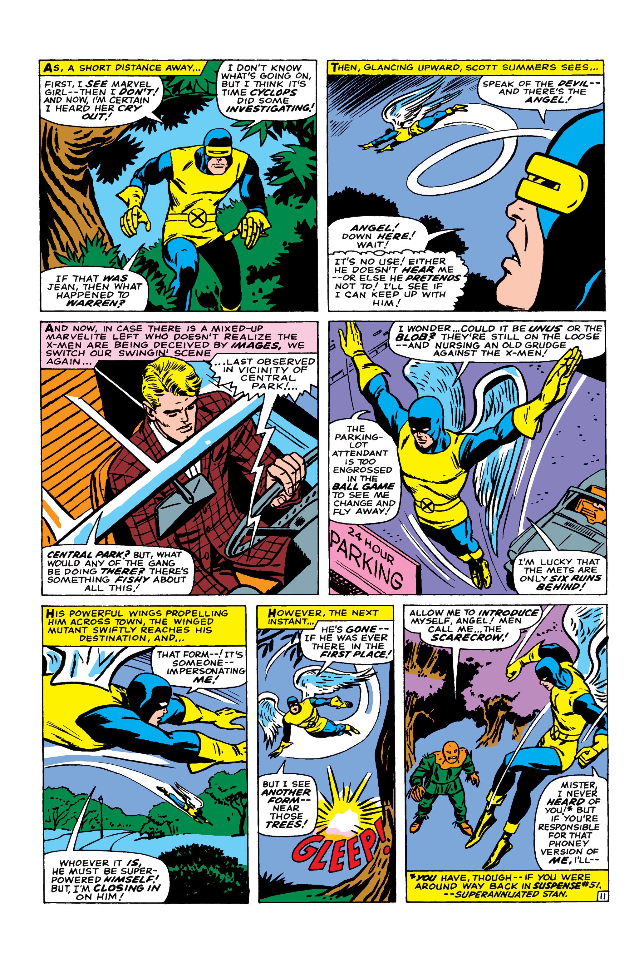 Read online Uncanny X-Men (1963) comic -  Issue #22 - 12