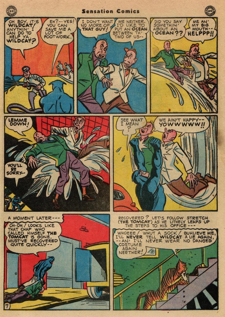 Read online Sensation (Mystery) Comics comic -  Issue #49 - 48