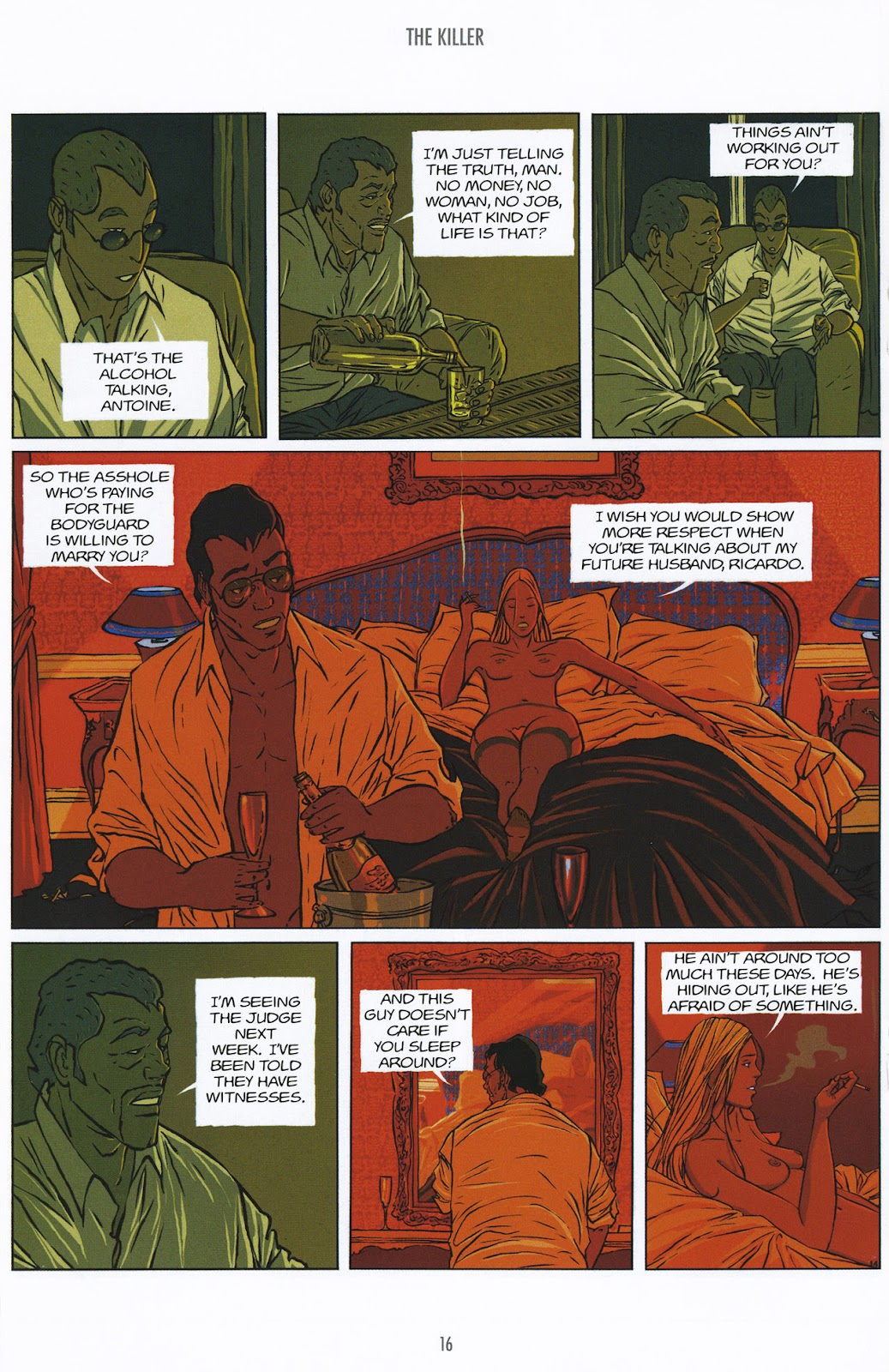 Read online The Killer comic -  Issue #9 - 16
