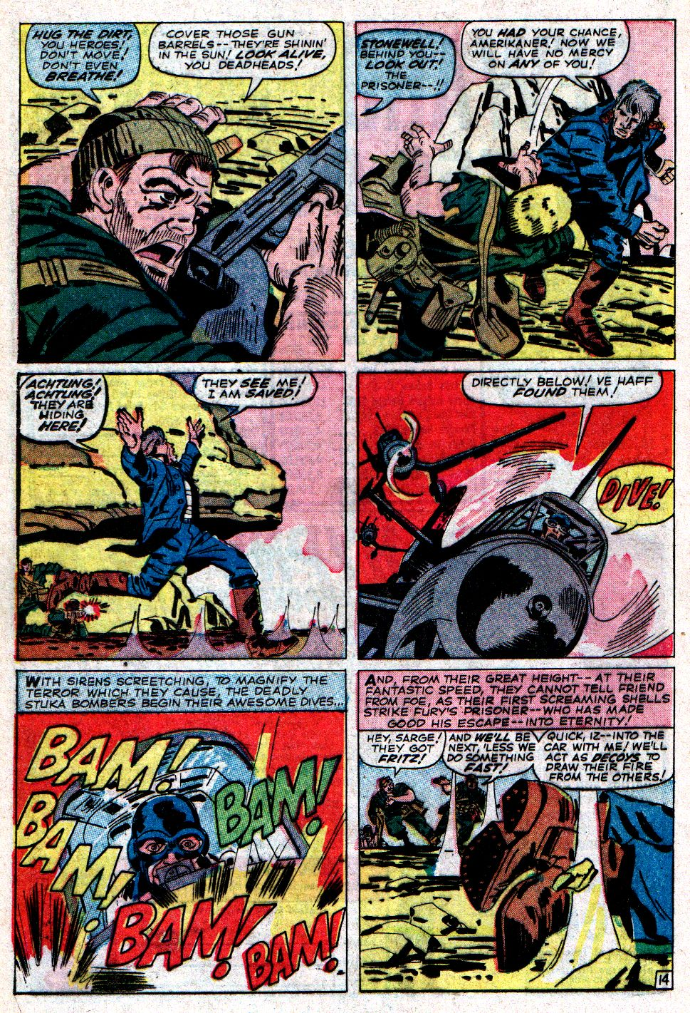 Read online Sgt. Fury comic -  Issue #6 - 20