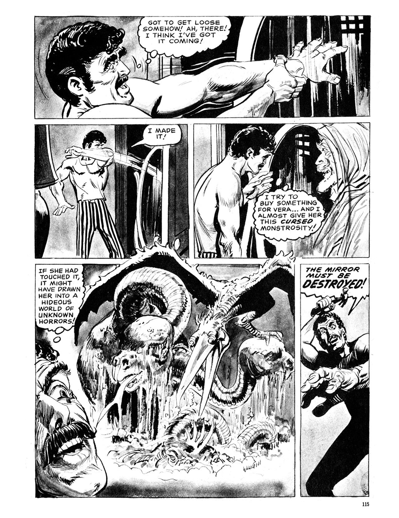 Read online Eerie Archives comic -  Issue # TPB 6 - 115