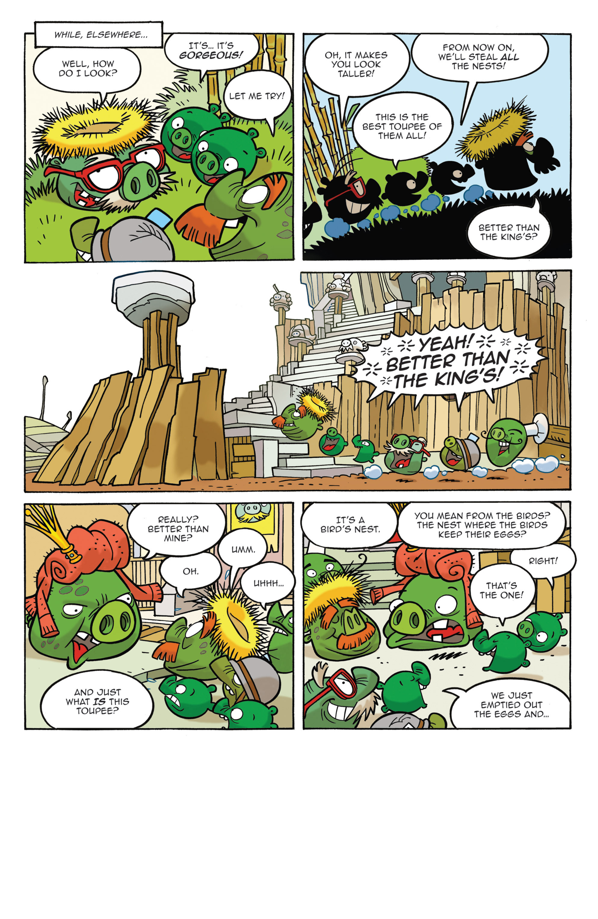 Read online Angry Birds Comics (2014) comic -  Issue #3 - 12