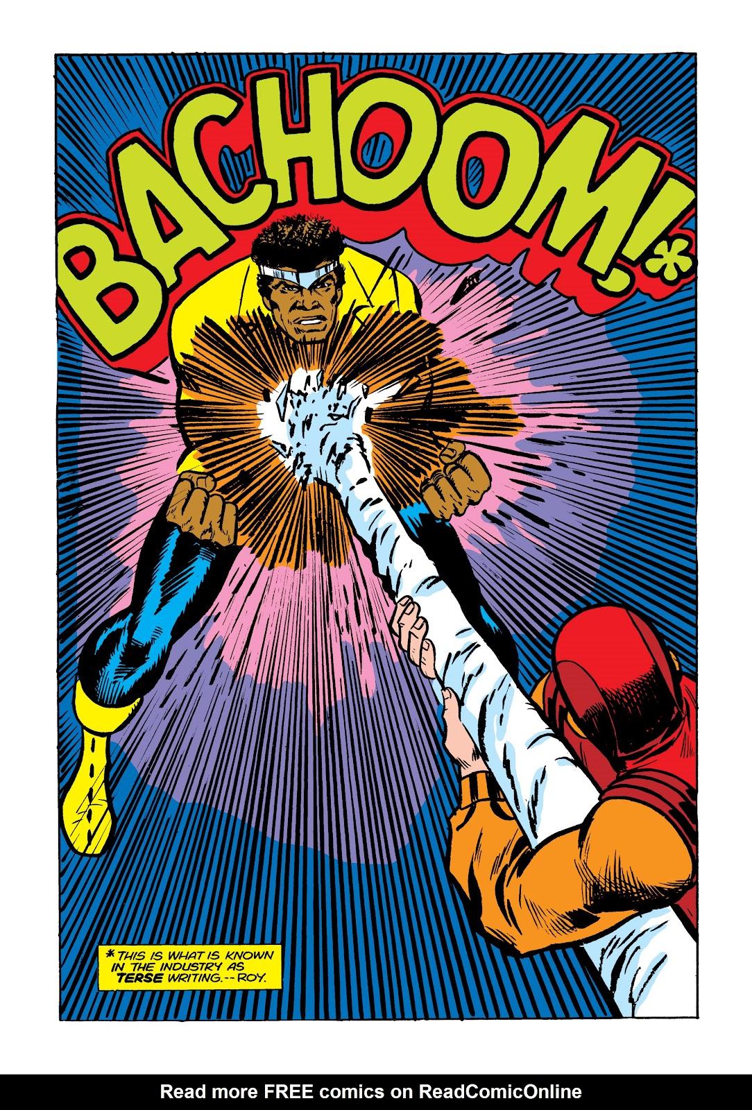 Read online Marvel Masterworks: Luke Cage, Power Man comic -  Issue # TPB 2 (Part 2) - 1
