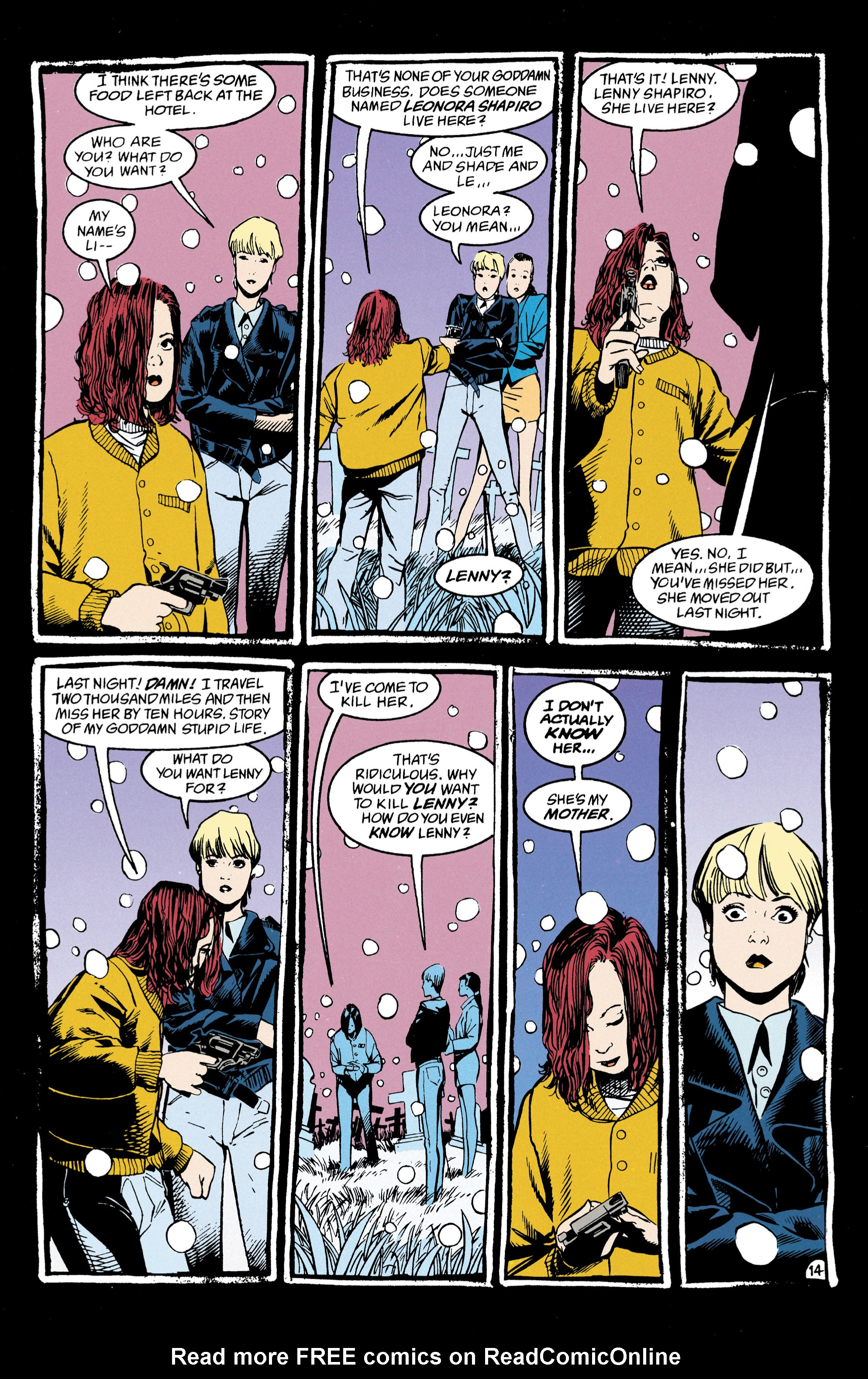 Read online Shade, the Changing Man comic -  Issue #47 - 15