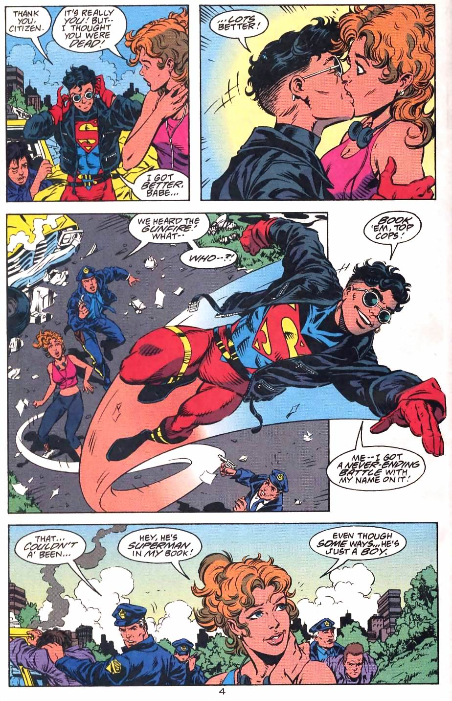 Read online Adventures of Superman (1987) comic -  Issue #501 - 7