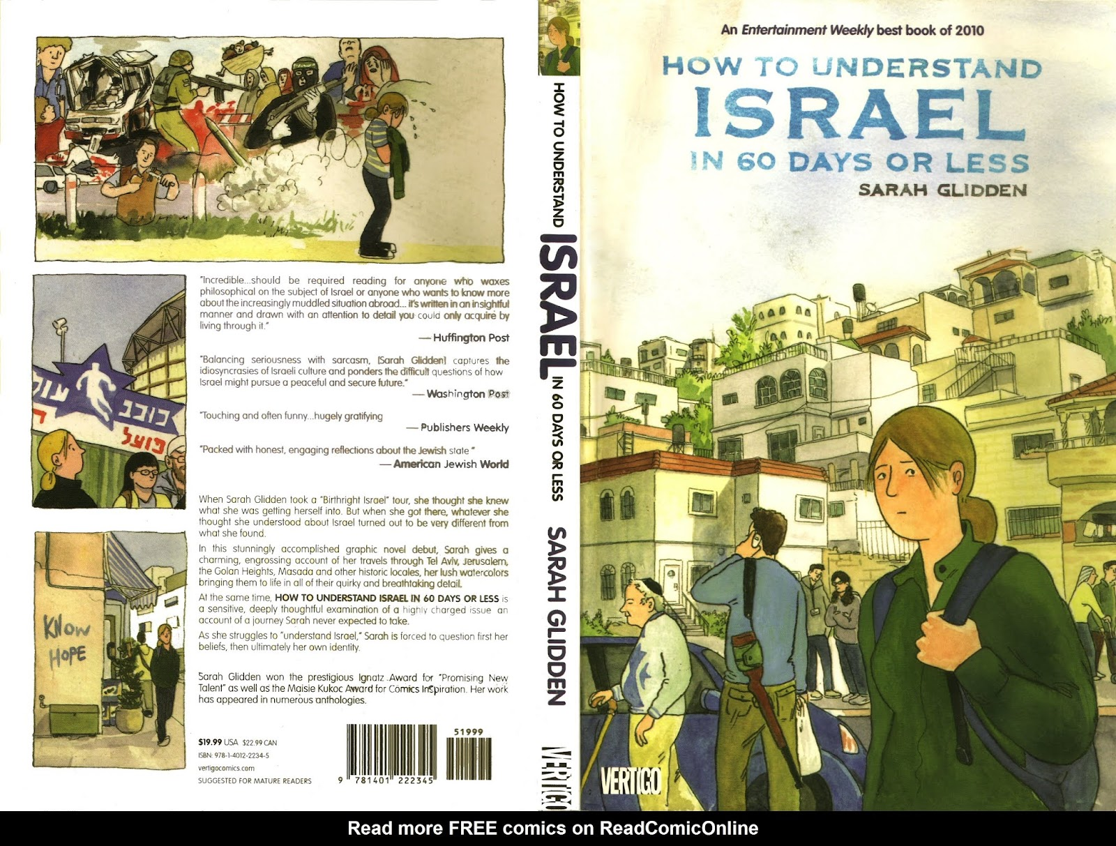How to Understand Israel In 60 Days or Less issue TPB - Page 1
