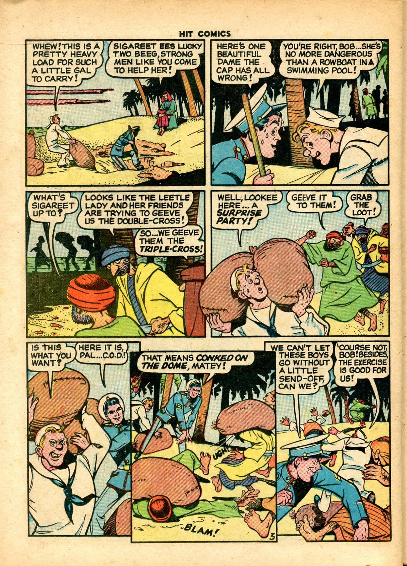Read online Hit Comics comic -  Issue #59 - 24