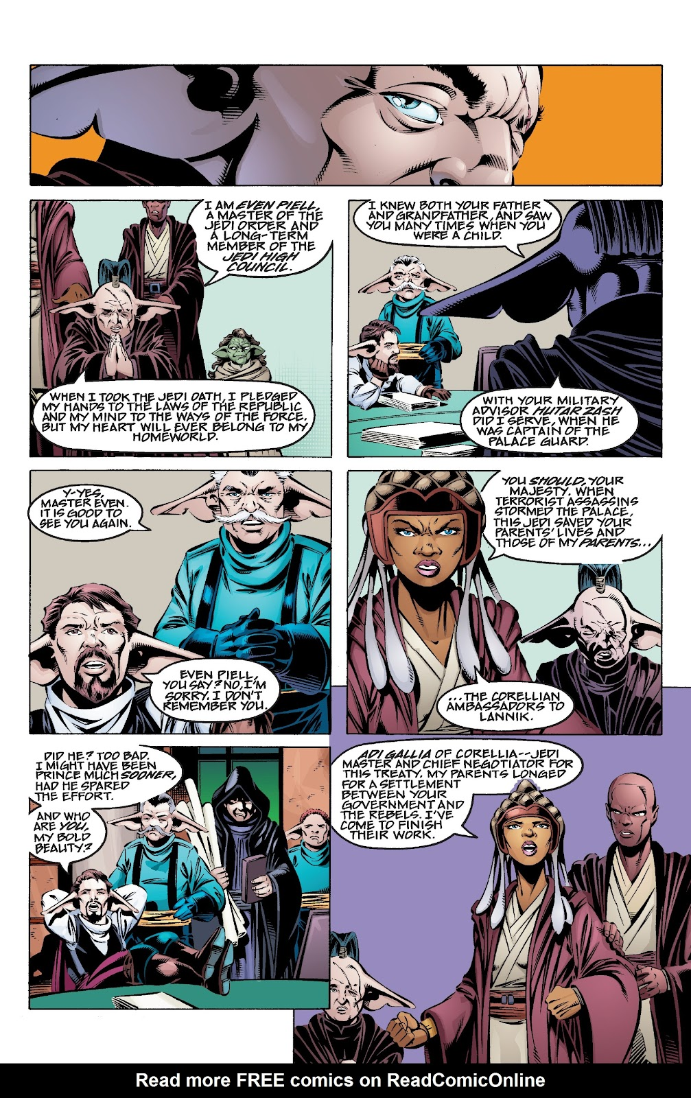 Read online Star Wars Legends Epic Collection: The Menace Revealed comic -  Issue # TPB (Part 3) - 99