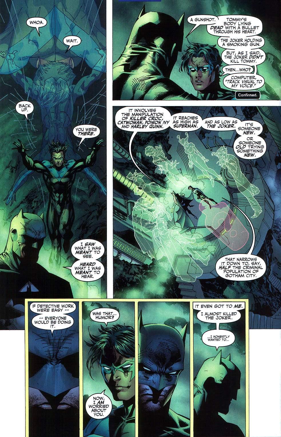 Read online Batman: Hush comic -  Issue #8 - 8
