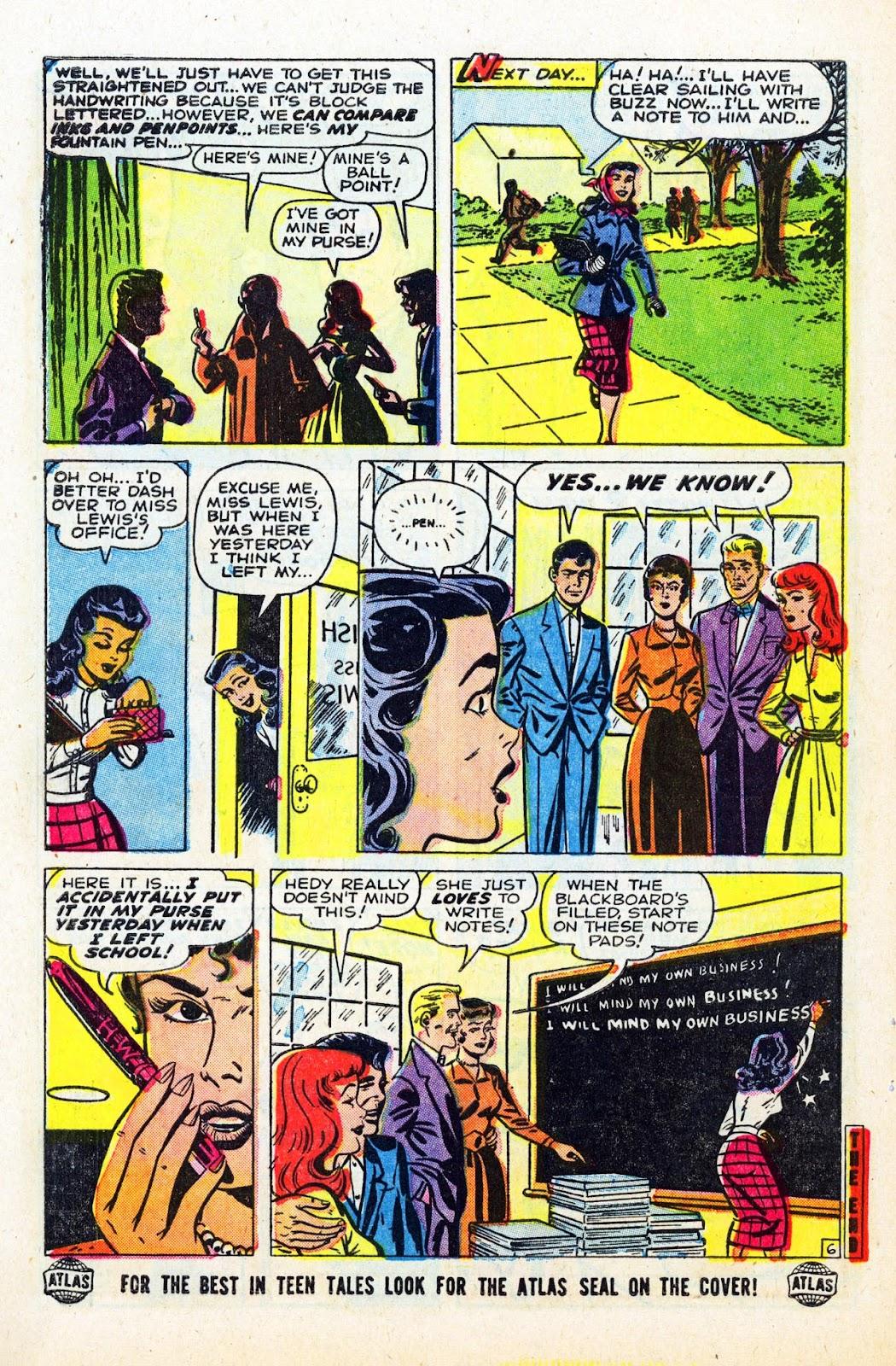 Read online Patsy Walker comic -  Issue #58 - 8
