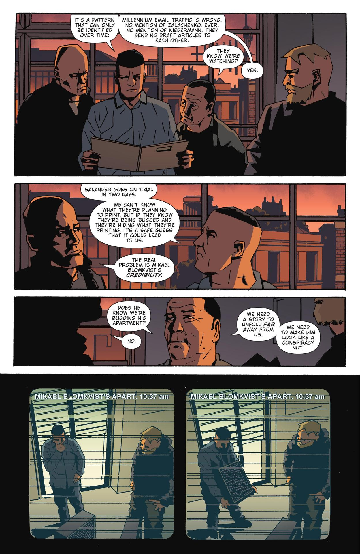 Read online The Girl Who Kicked The Hornet's Nest comic -  Issue # TPB - 203