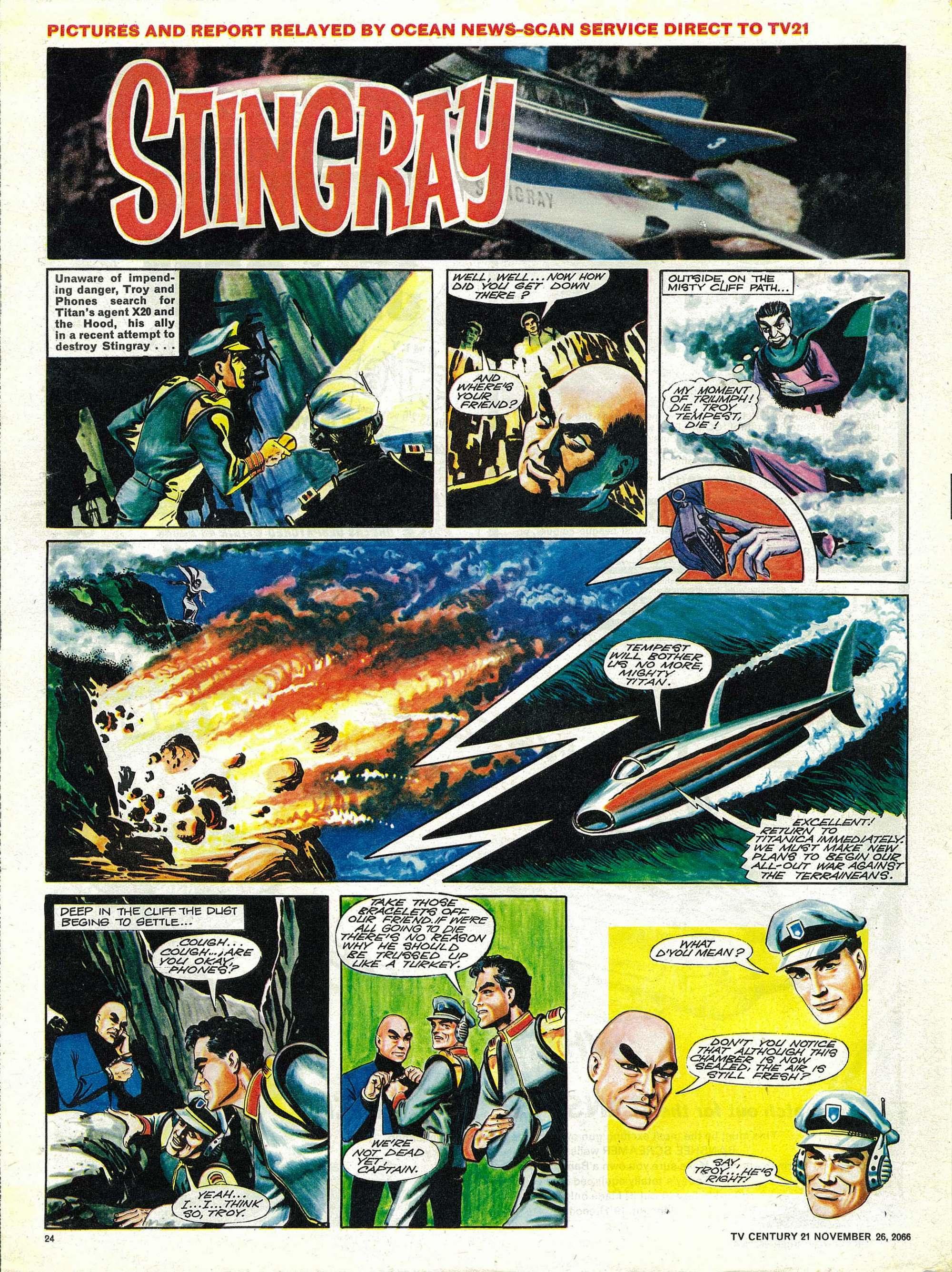 Read online TV Century 21 (TV 21) comic -  Issue #97 - 23