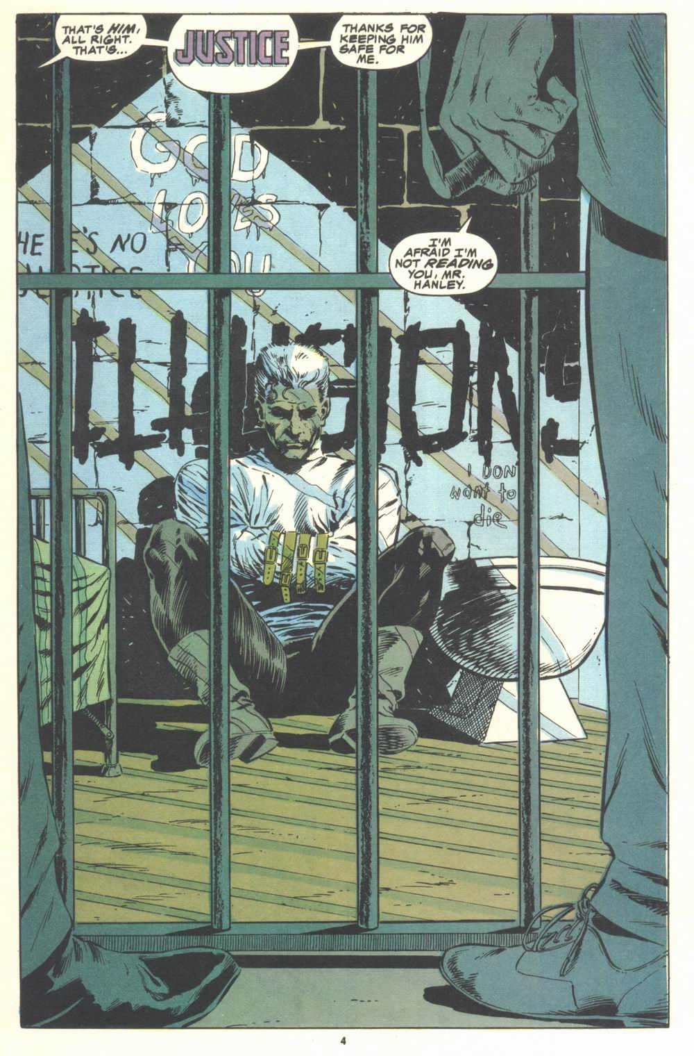 Read online Justice (1986) comic -  Issue #21 - 6