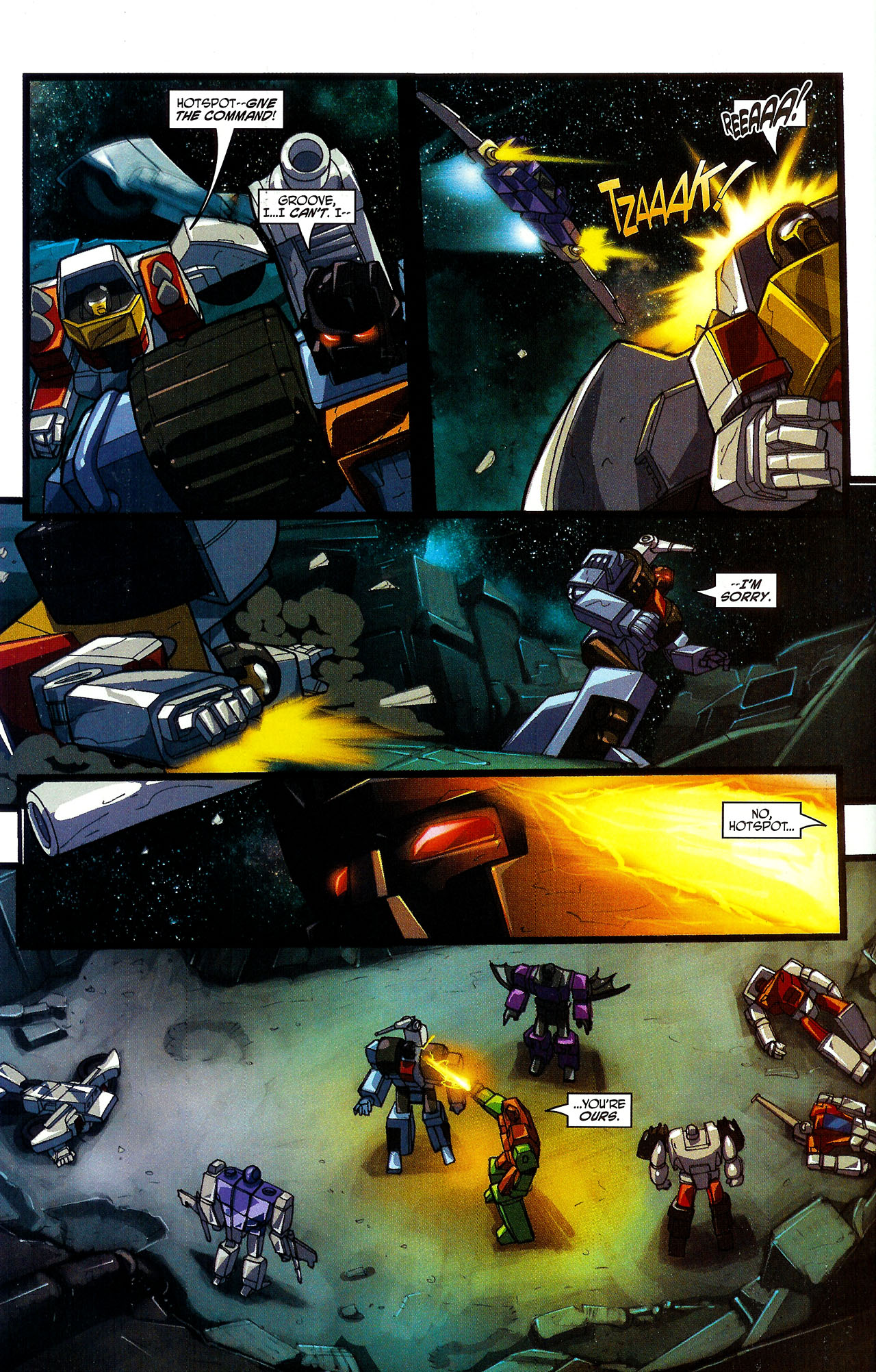 """Read online Transformers War Within: """"The Dark Ages"""" comic -  Issue #5 - 15"""