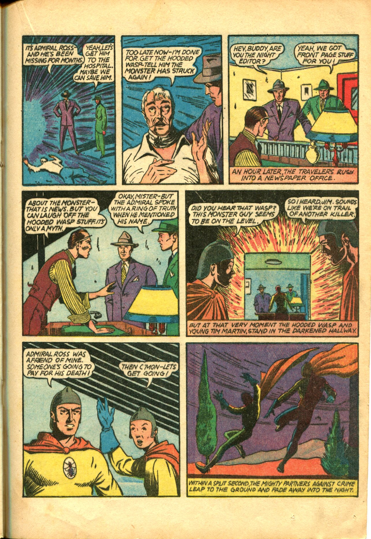 Read online Shadow Comics comic -  Issue #10 - 39