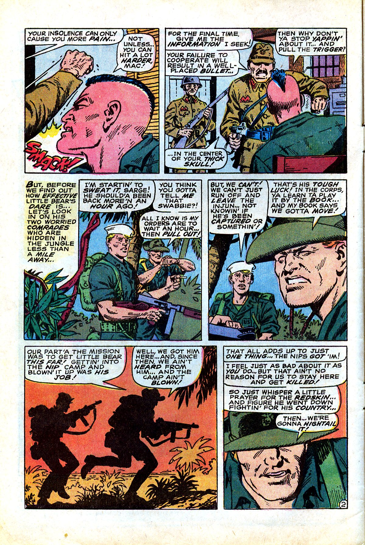 Captain Savage and his Leatherneck Raiders issue 17 - Page 4