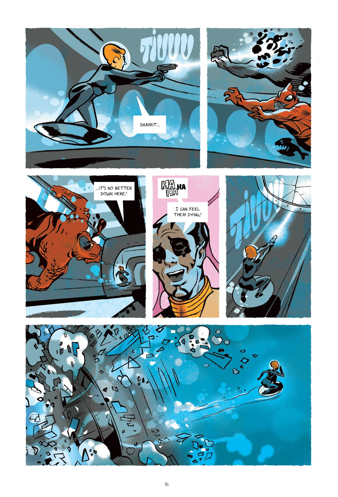 Read online Infinity 8 comic -  Issue # _TPB 3 - 86
