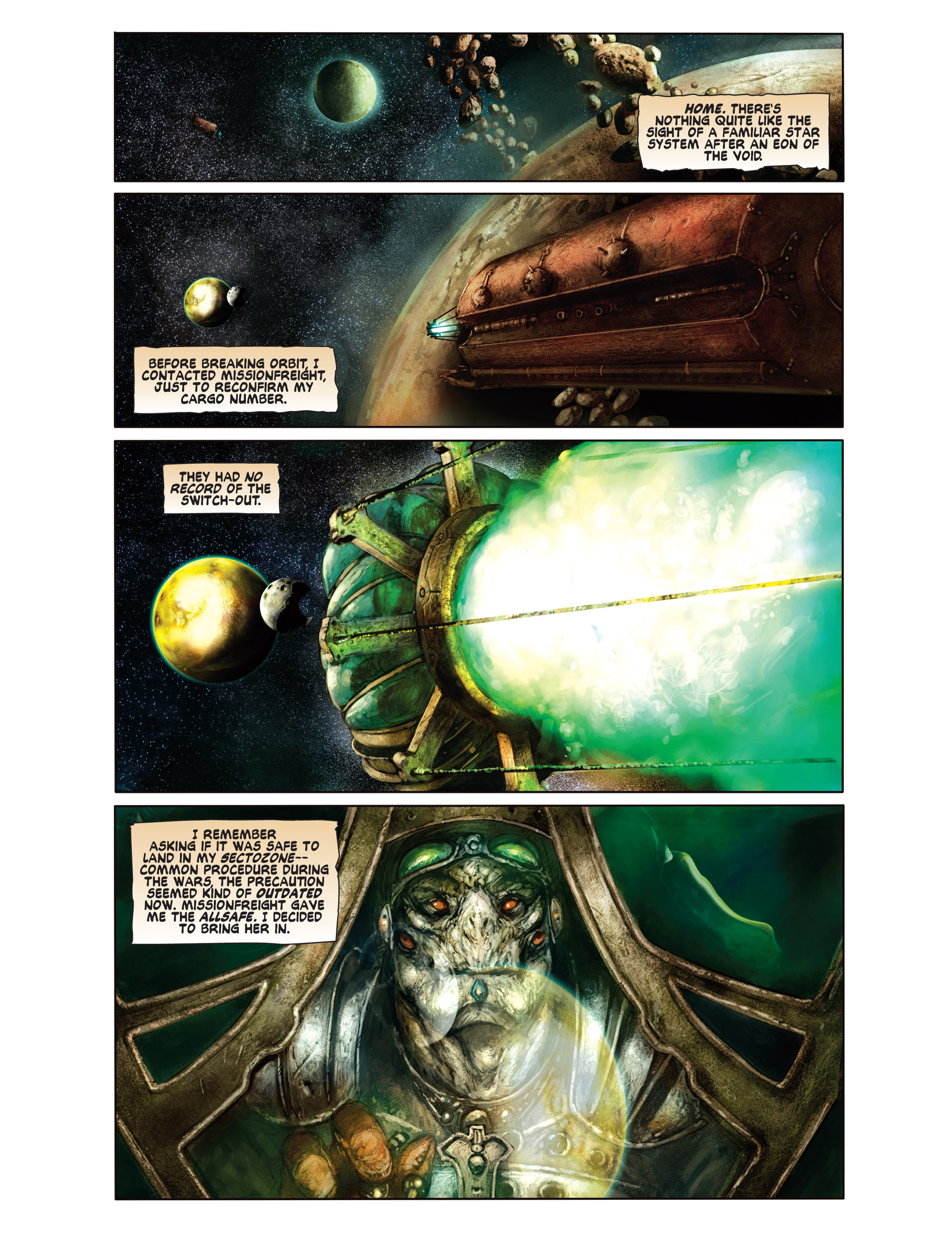 Read online Bad Planet comic -  Issue # TPB - 98
