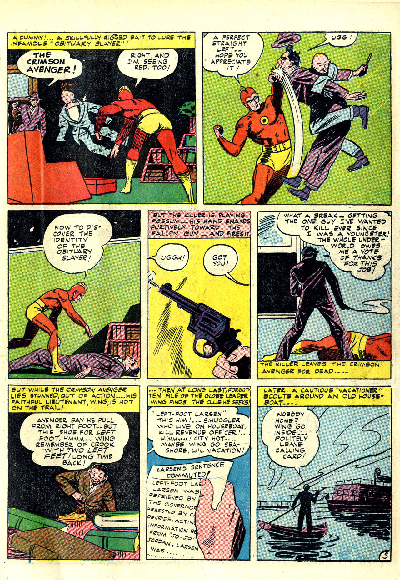 Read online Detective Comics (1937) comic -  Issue #78 - 29