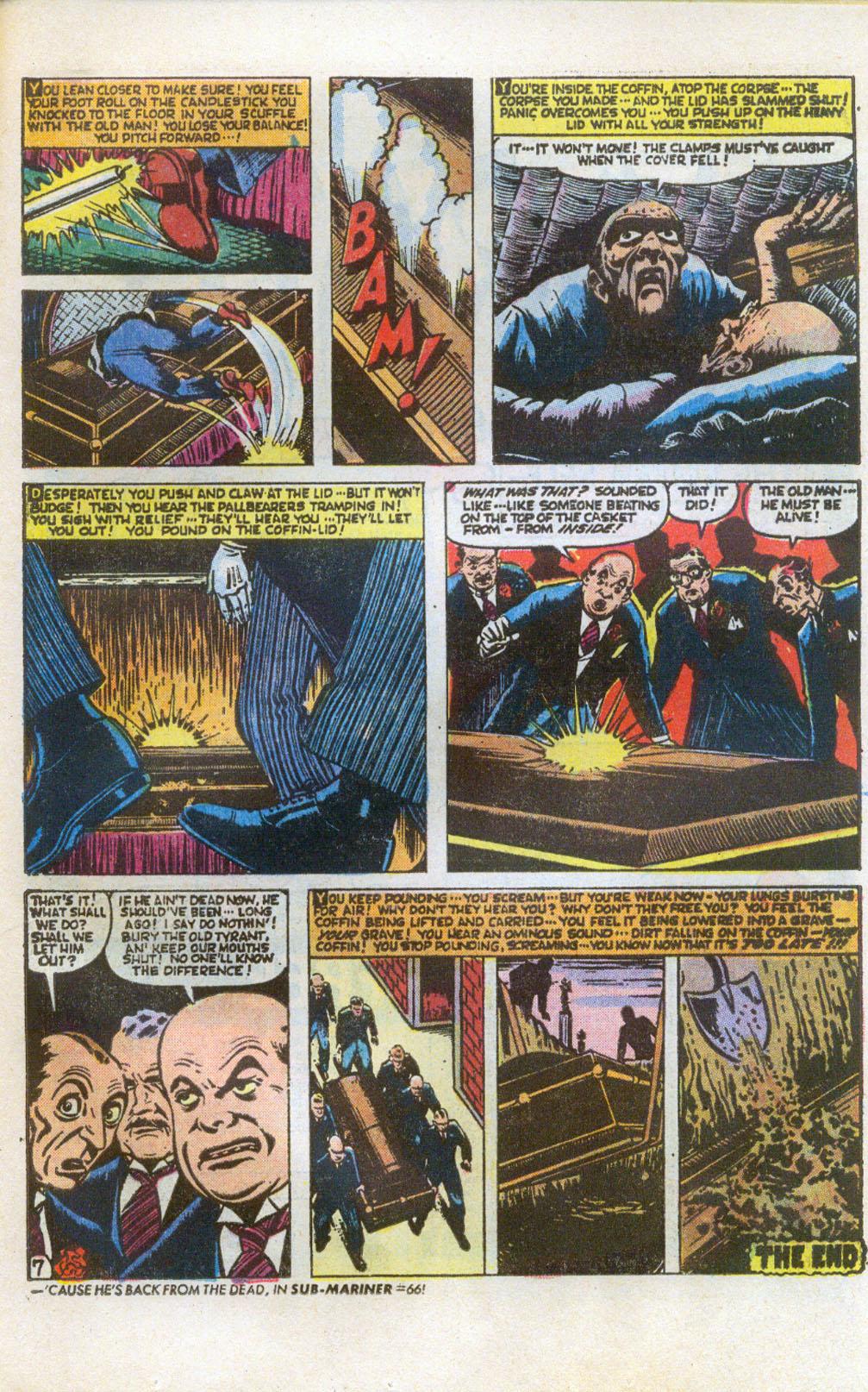 Read online Adventures into Weird Worlds comic -  Issue #5 - 8