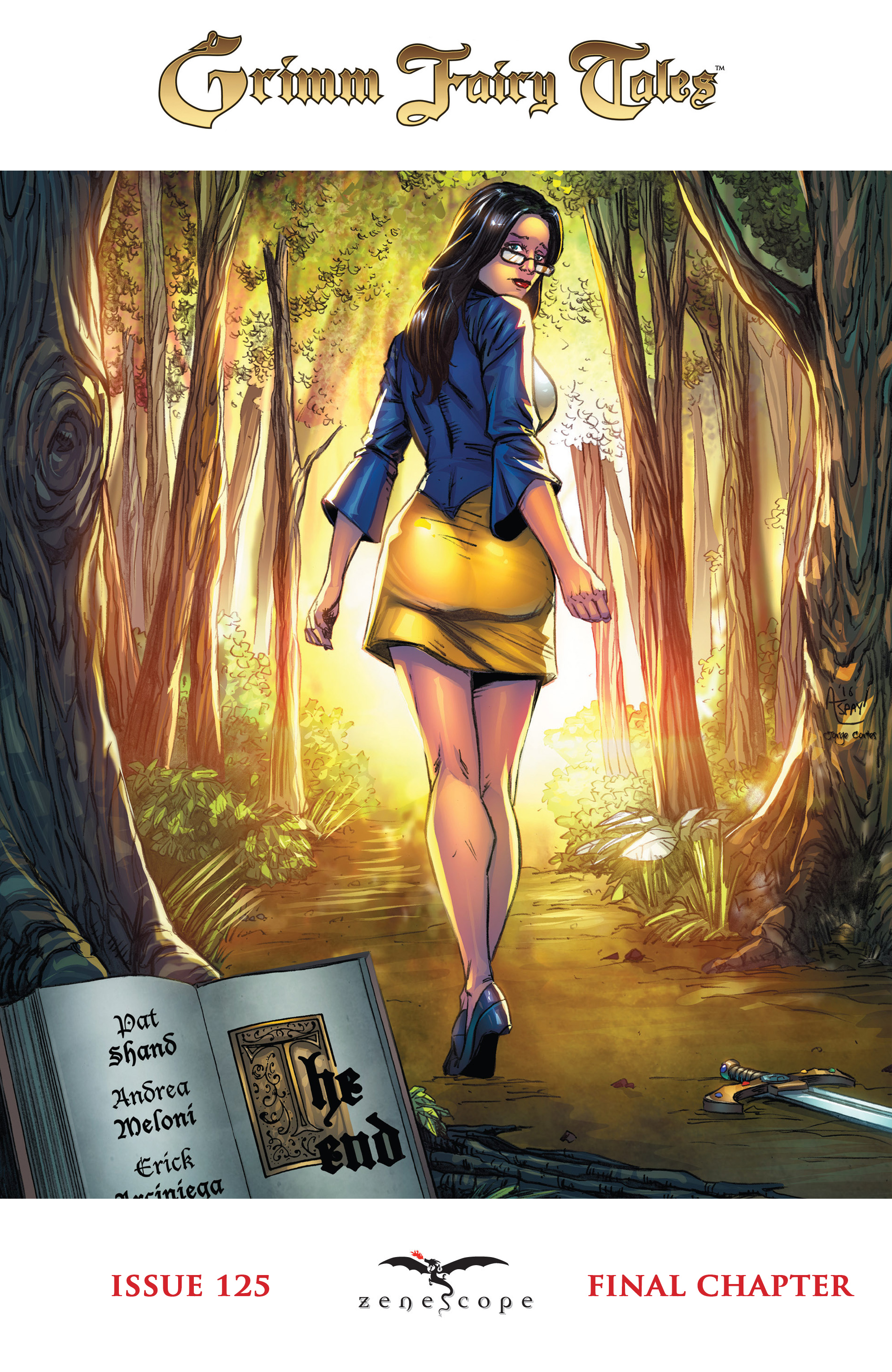 Read online Grimm Fairy Tales: Arcane Acre comic -  Issue # TPB 4 - 142