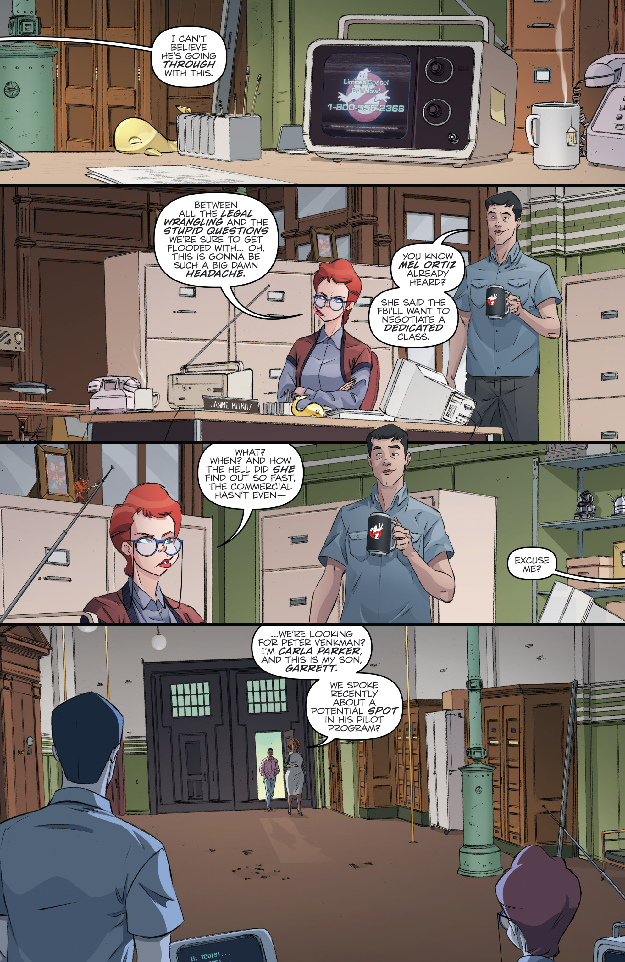 Read online Ghostbusters 101 comic -  Issue #2 - 13