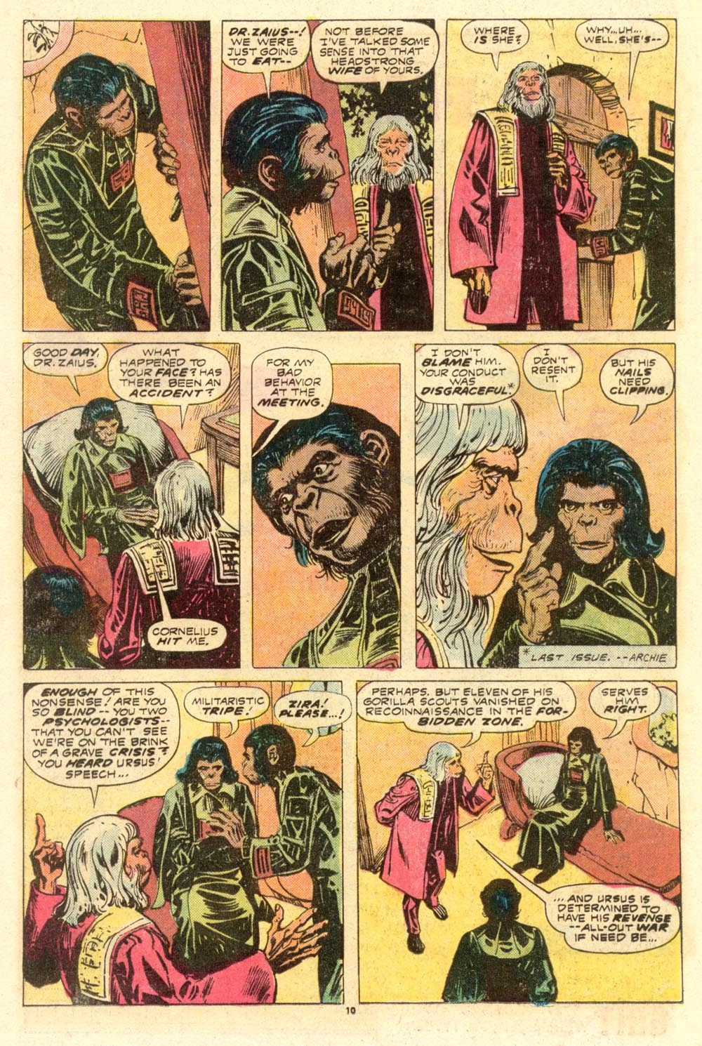 Read online Adventures on the Planet of the Apes comic -  Issue #8 - 7