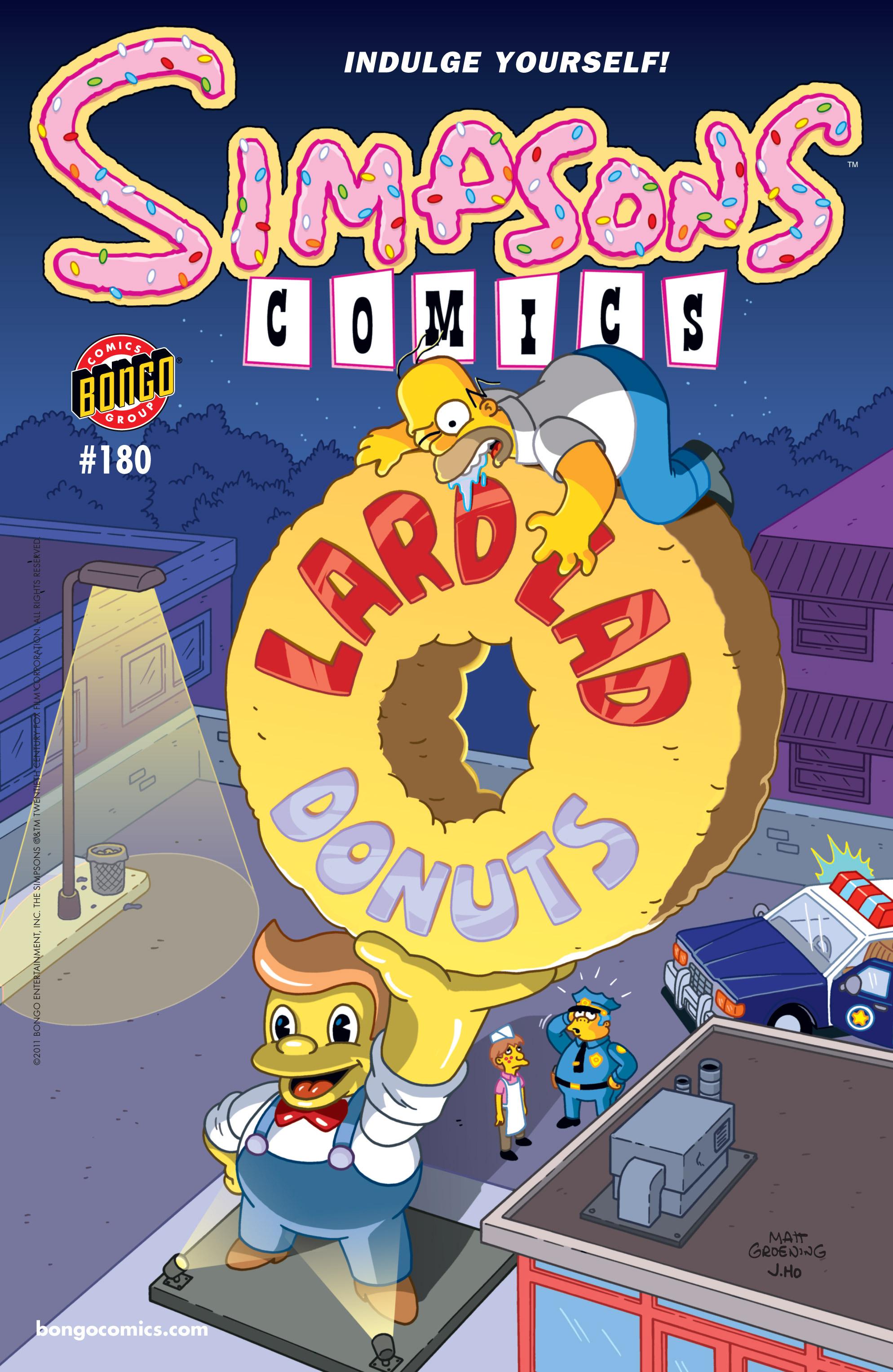 Read online Simpsons Comics comic -  Issue #180 - 1