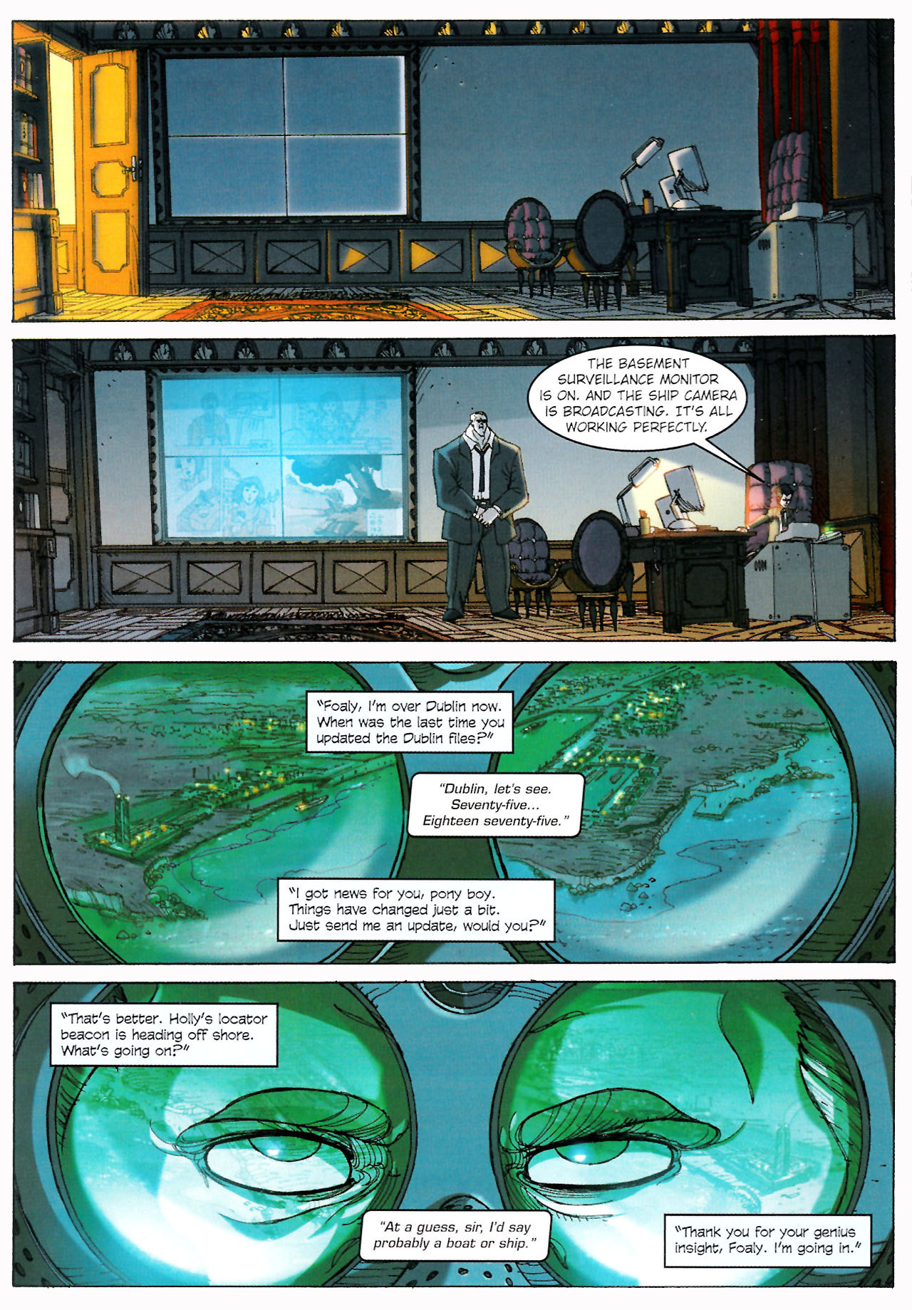 Read online Artemis Fowl: The Graphic Novel comic -  Issue #Artemis Fowl: The Graphic Novel Full - 43