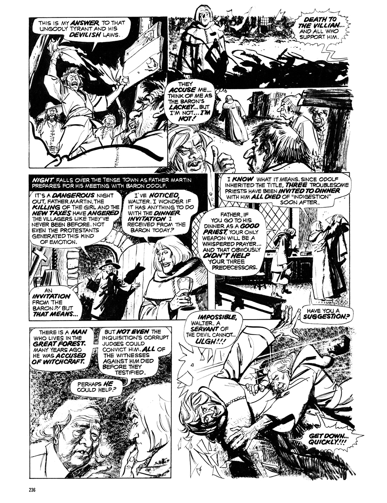 Read online Eerie Archives comic -  Issue # TPB 10 - 237