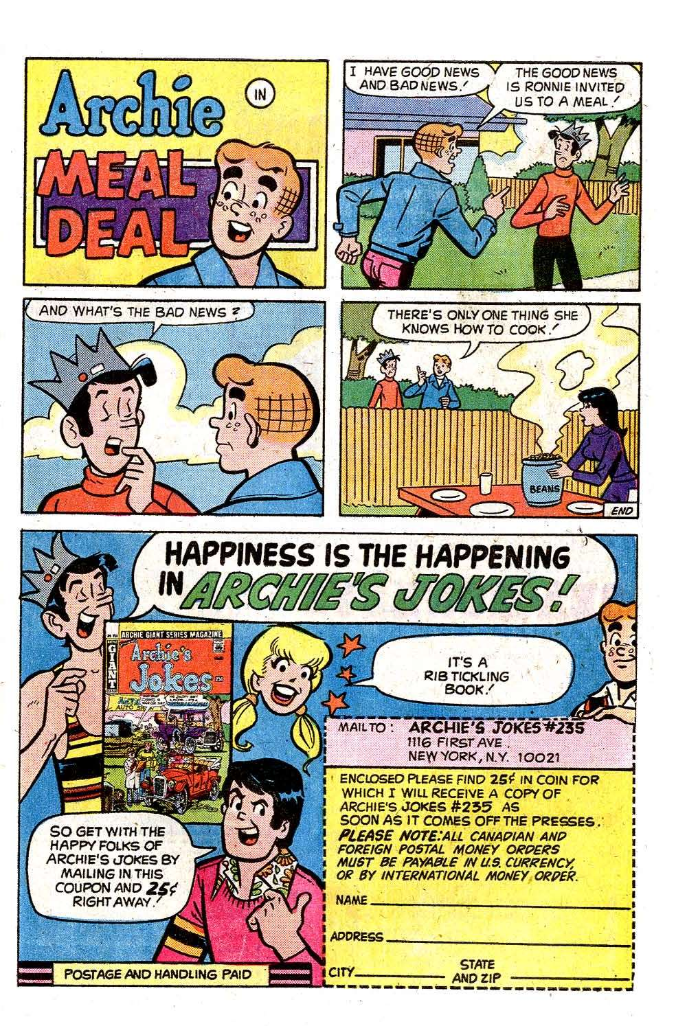 Read online Archie (1960) comic -  Issue #245 - 27