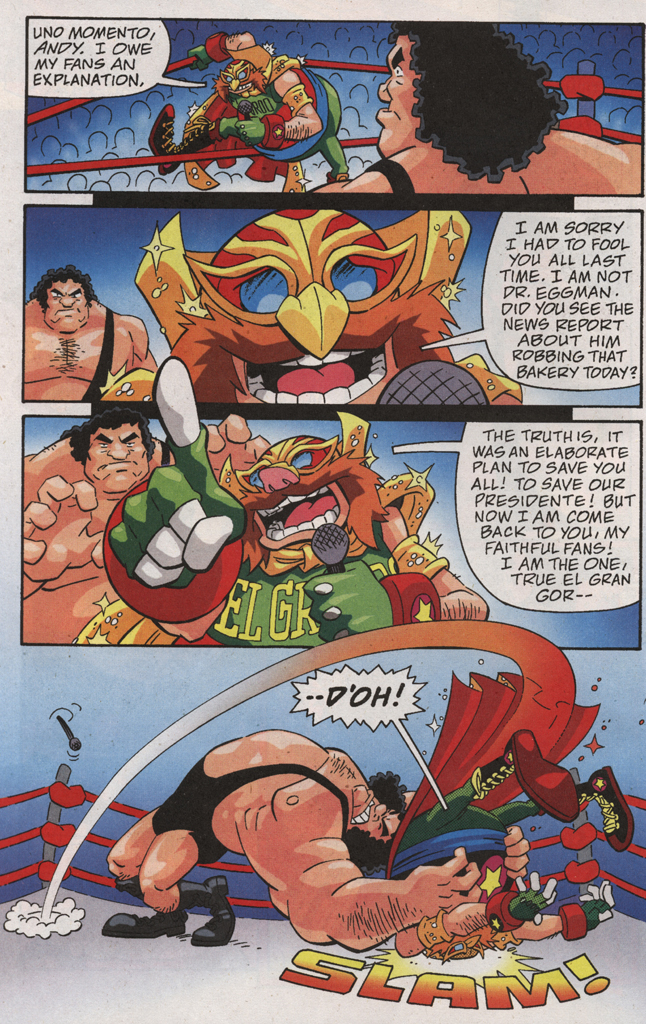 Read online Sonic X comic -  Issue #31 - 12